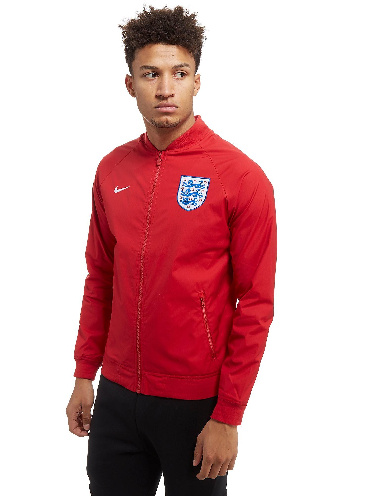 Nike England Authentic Varsity Jacket