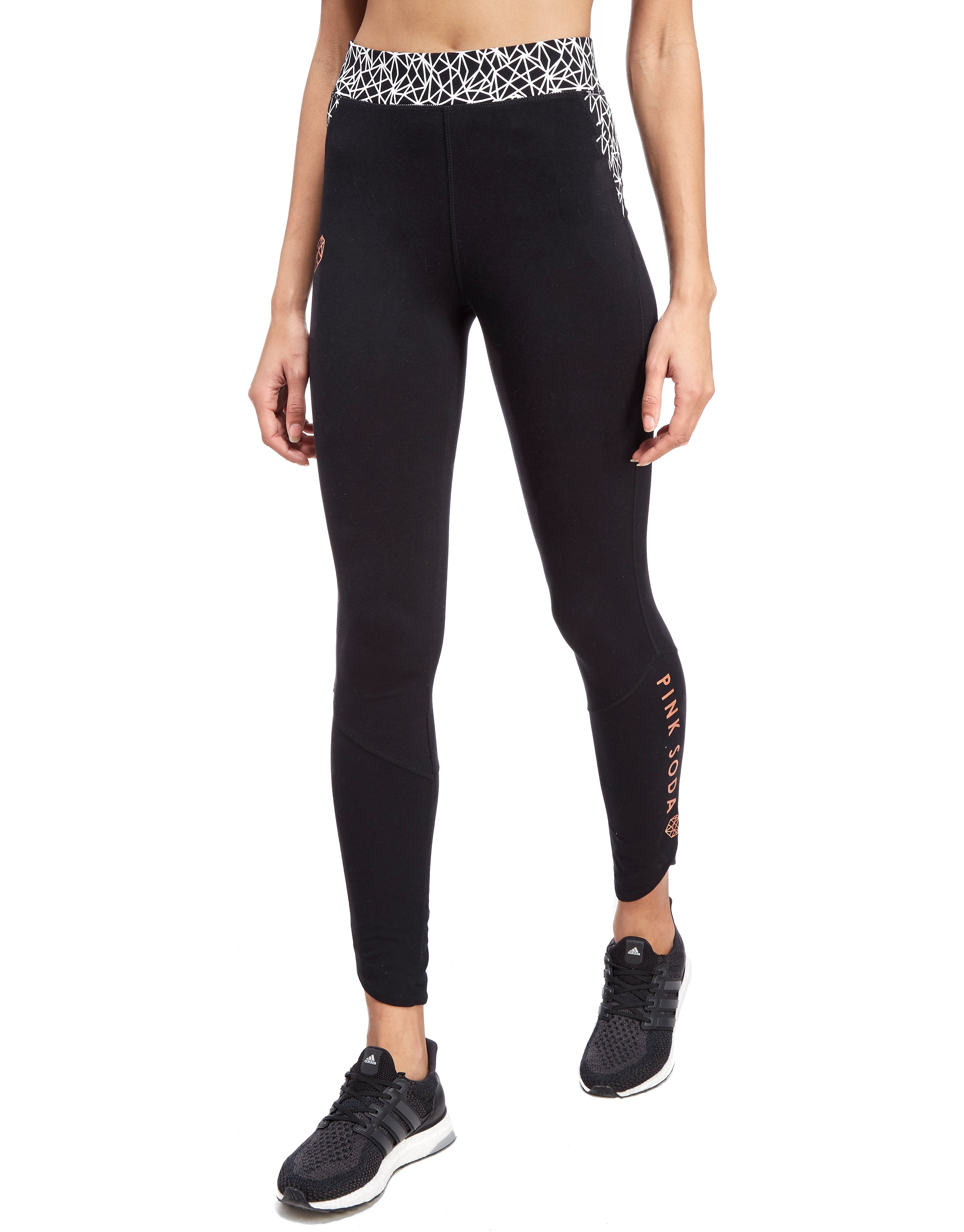Pink Soda Sport Contrast Lifestyle Leggings