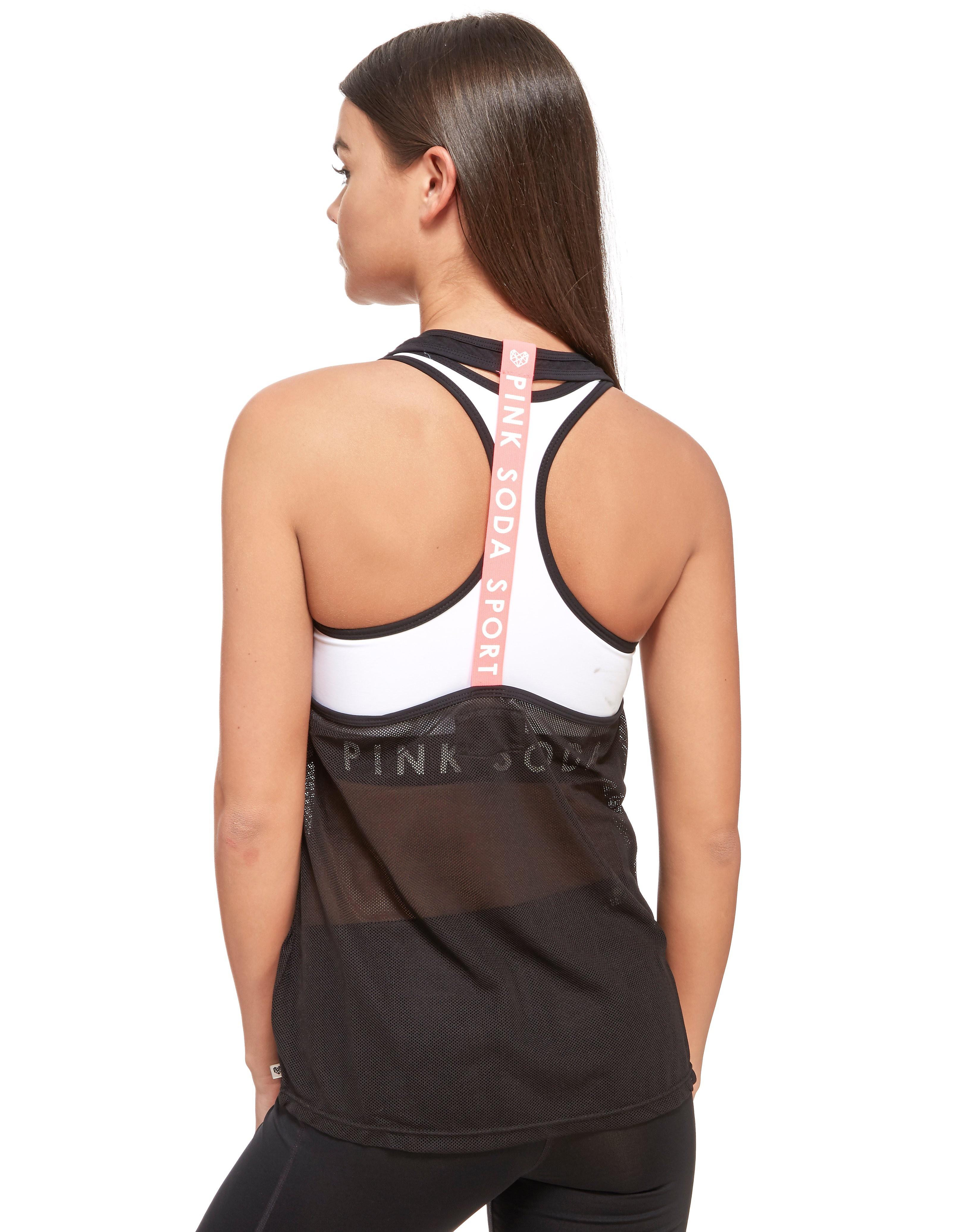 Pink Soda Sport 2-In-1 Mesh Vest