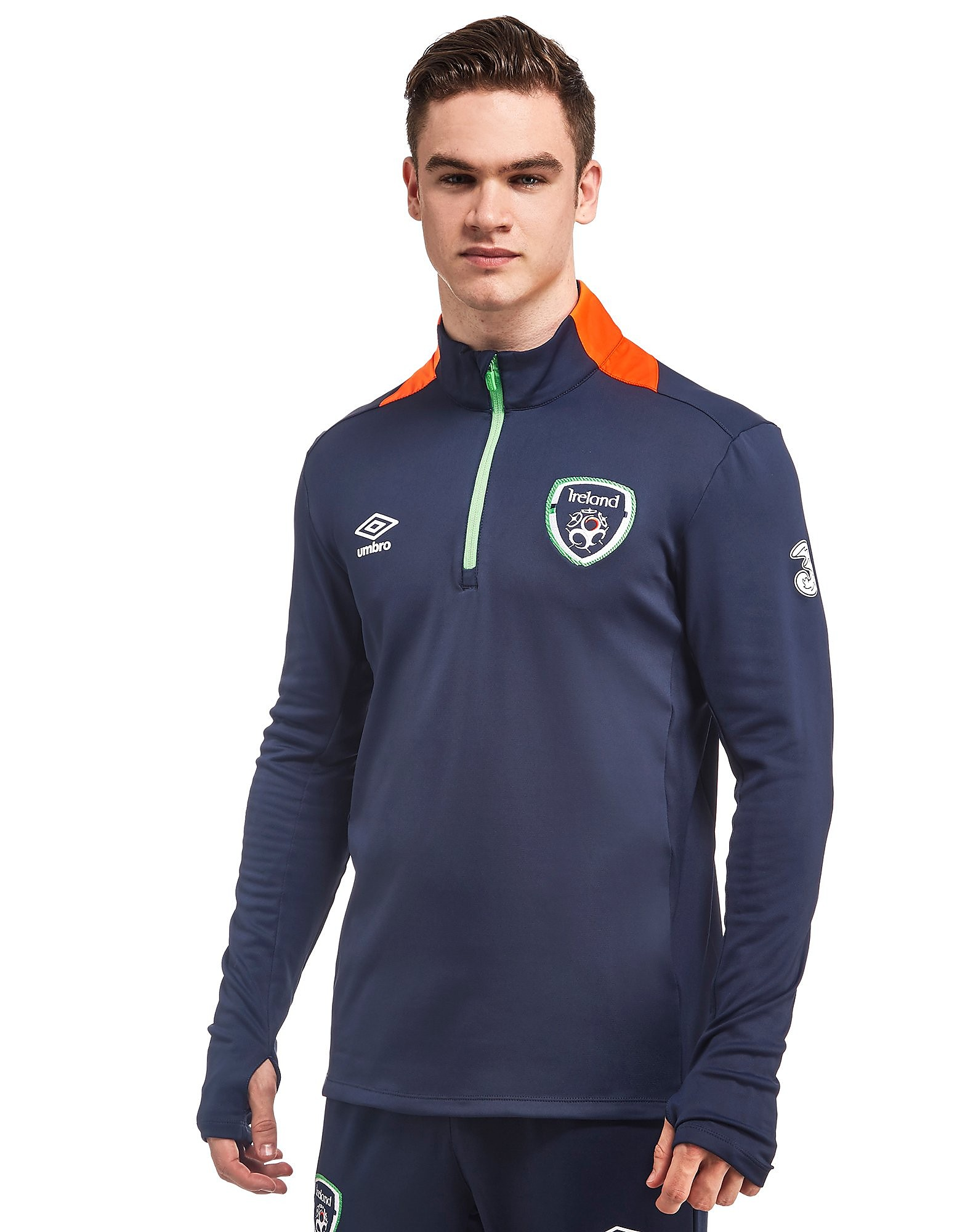 Umbro Republic of Ireland 1/2 Zip Top