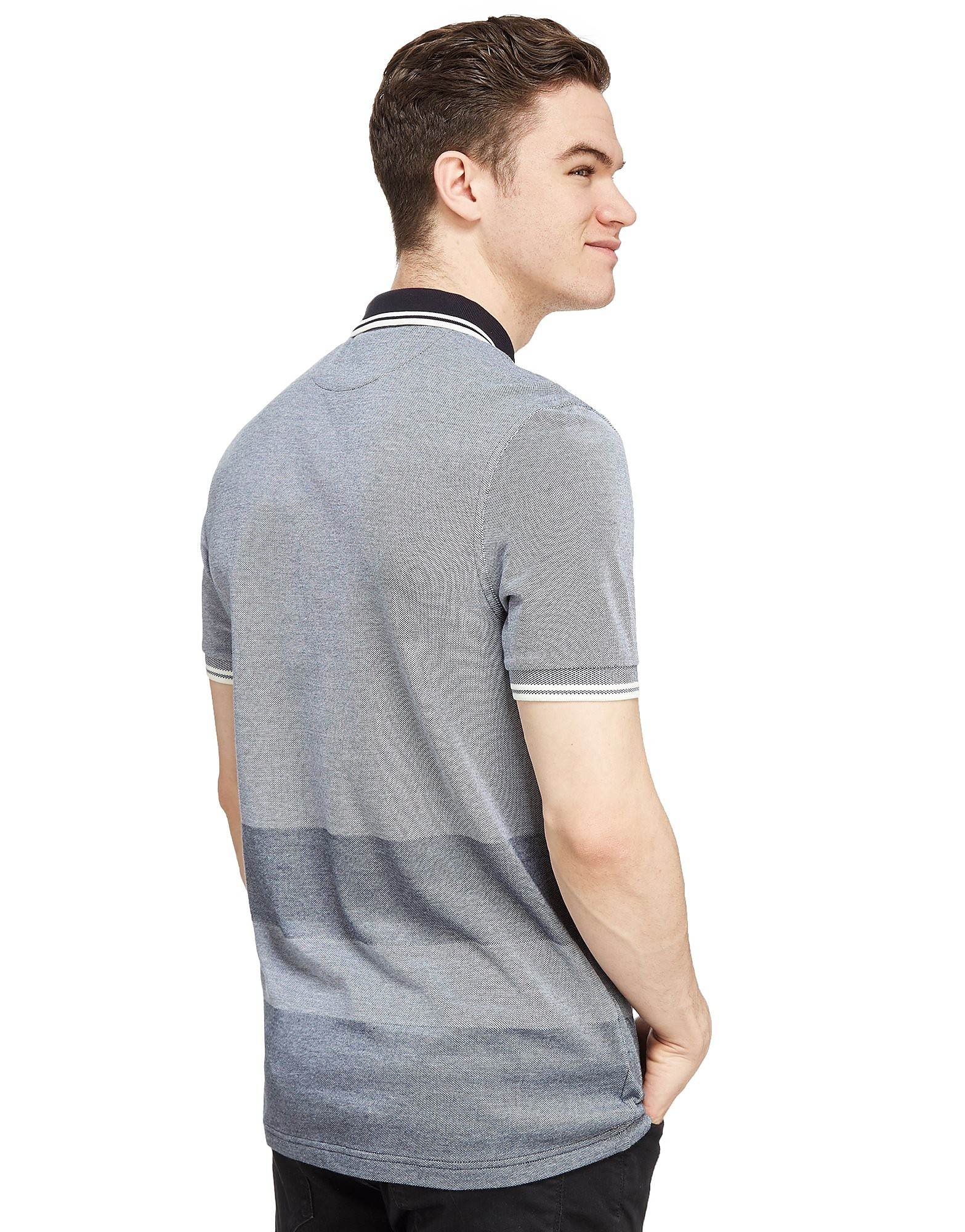 Fred Perry Oxford Stripe Twin Tip Polo Shirt