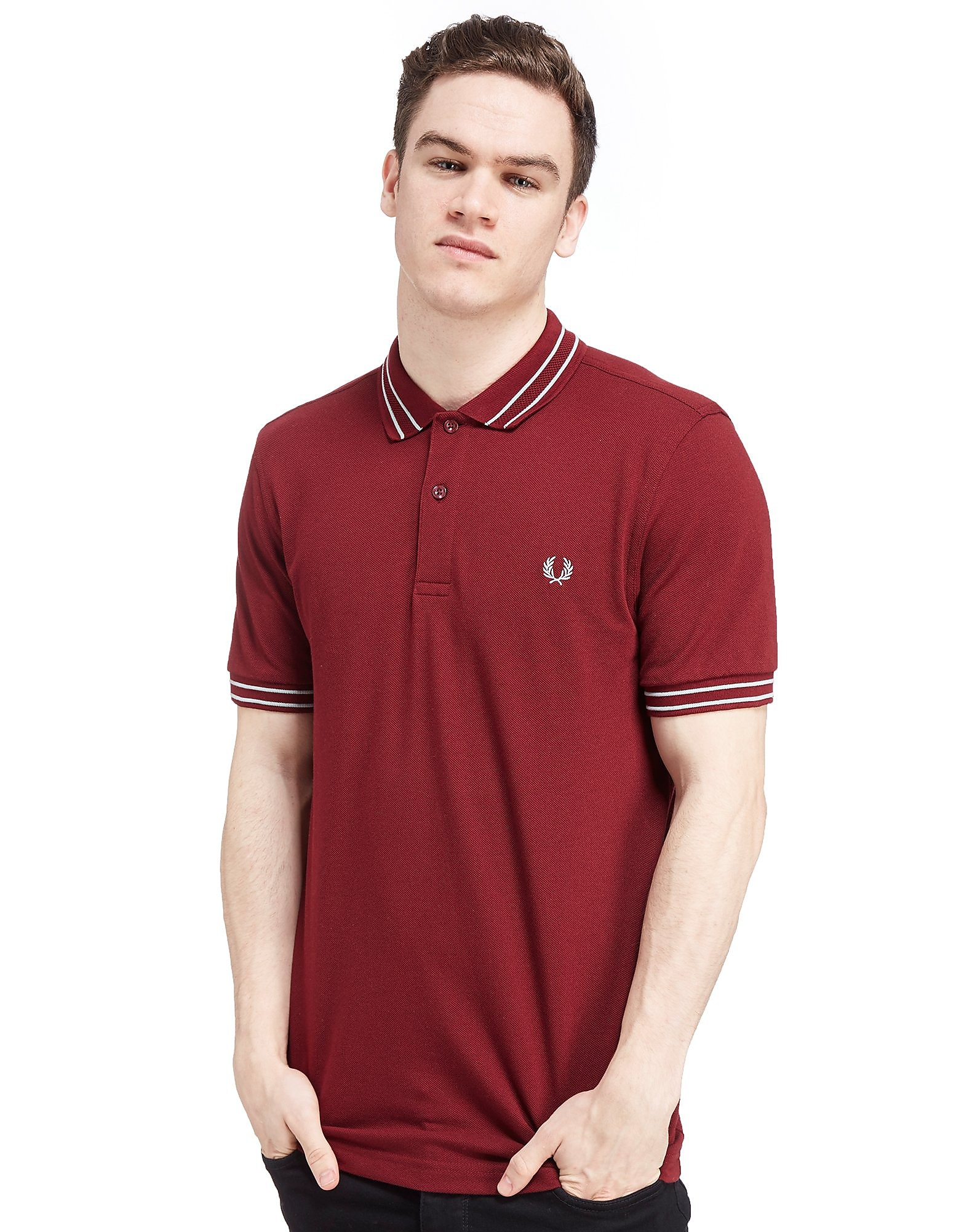 Fred Perry Tramline Tip Polo Shirt