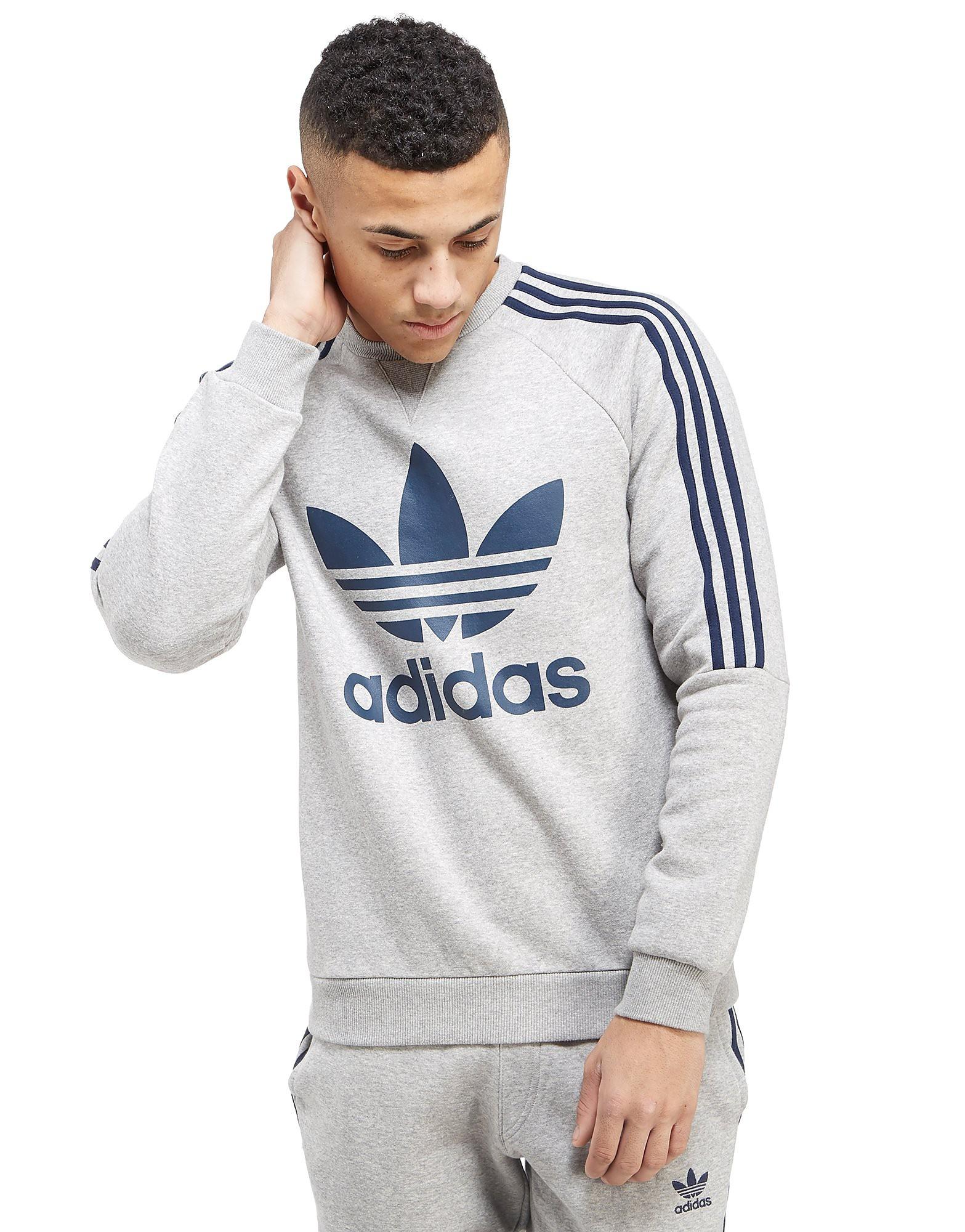 adidas Originals 3 Stripe Trefoil Sweatshirt