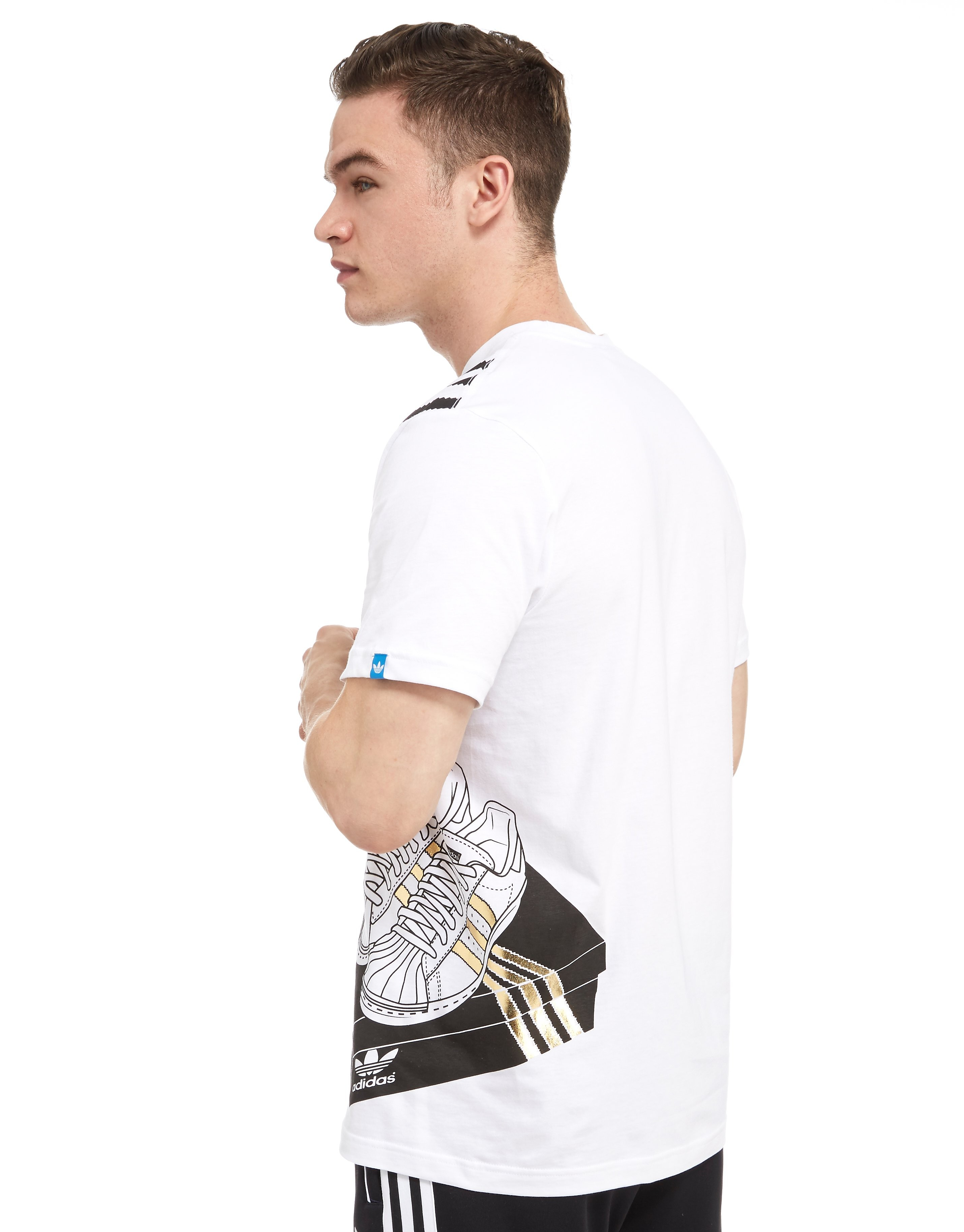 adidas Originals 3-Stripes Box T-Shirt