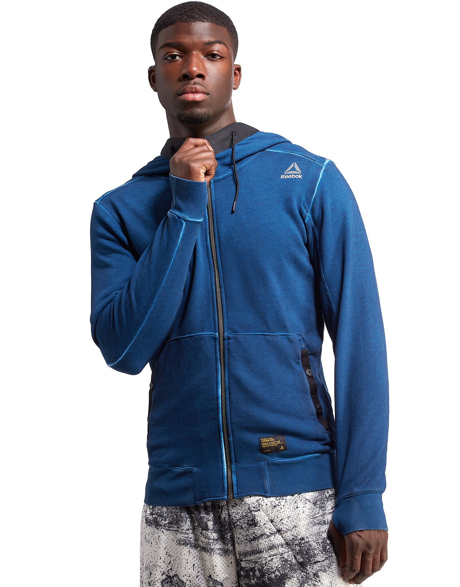 Reebok The Noble Fight Washed Zip Hoody
