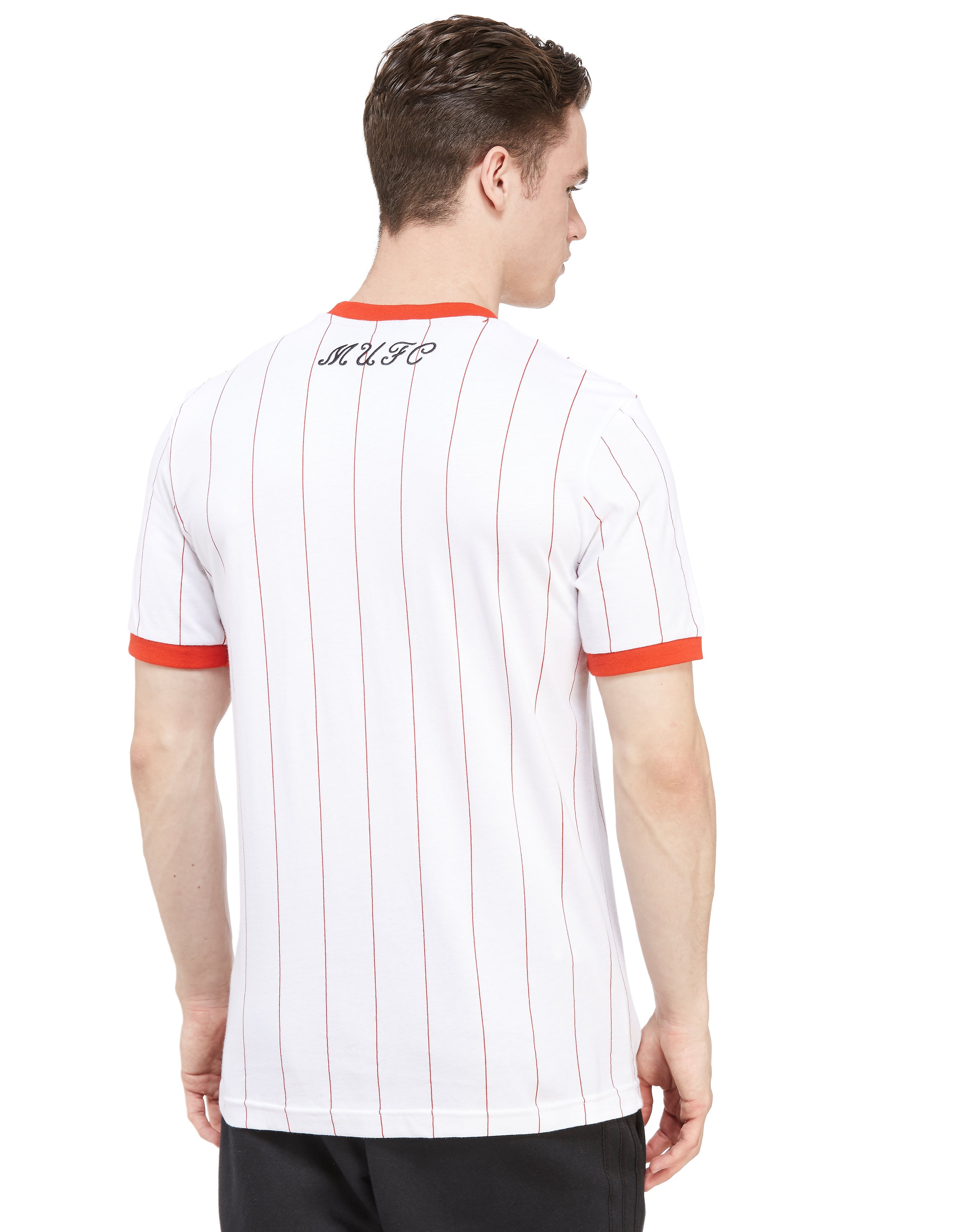 adidas Originals Manchester United FC Pinstripe T-Shirt