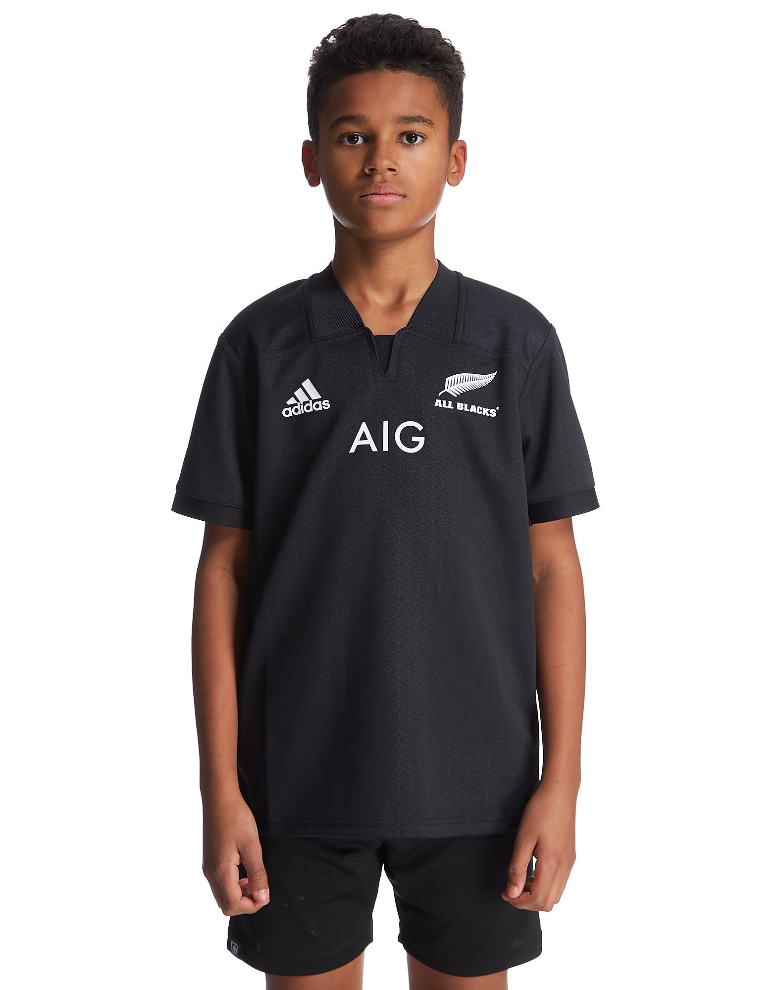 adidas New Zealand Rugby Home 2016/17 Shirt Junior