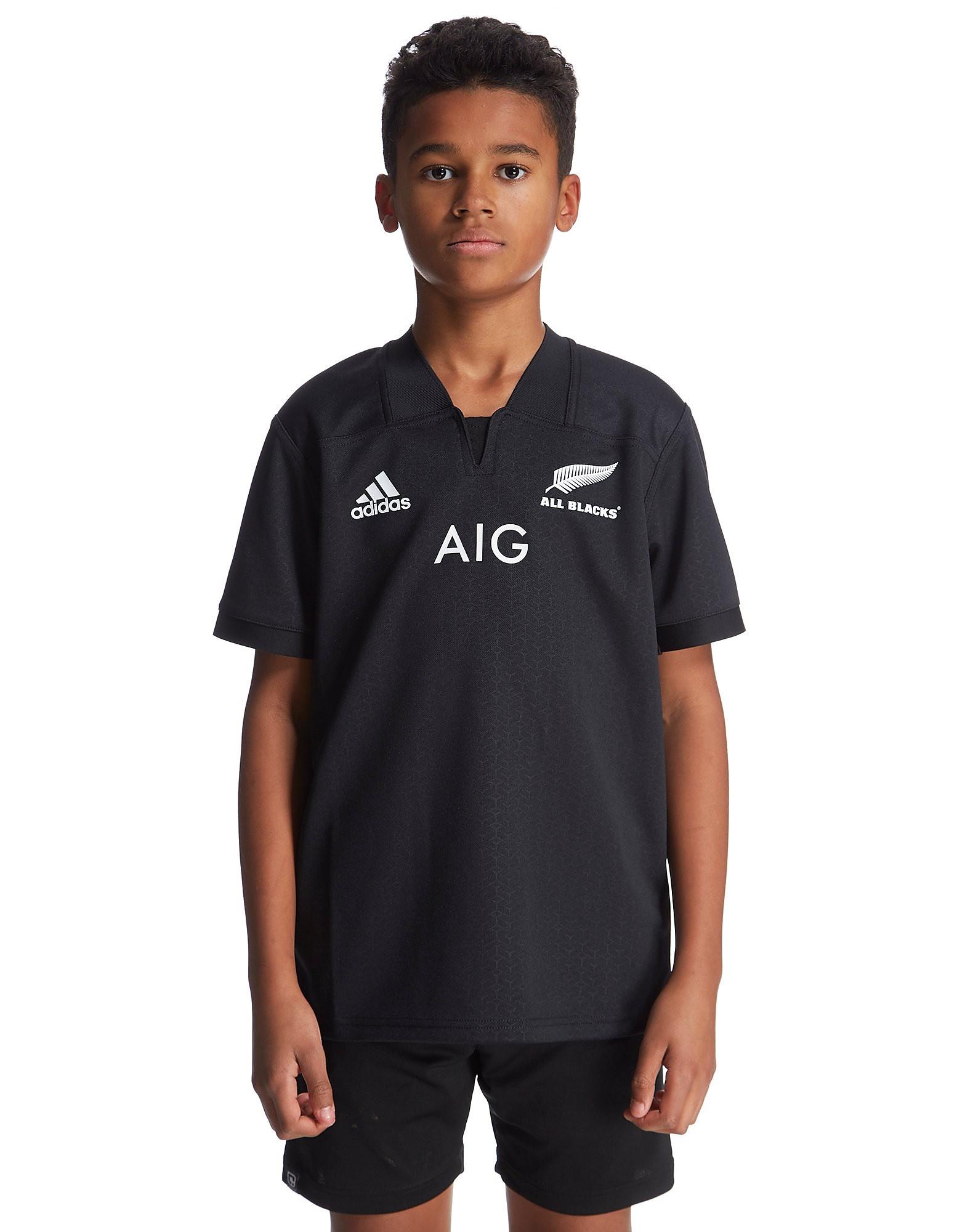 adidas New Zealand Rugby Home 2016/17 Shirt Junior