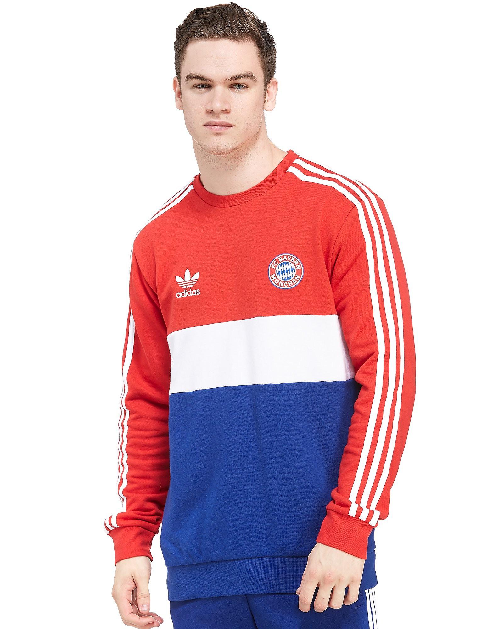 adidas Originals FC Bayern Munich Crew Sweatshirt