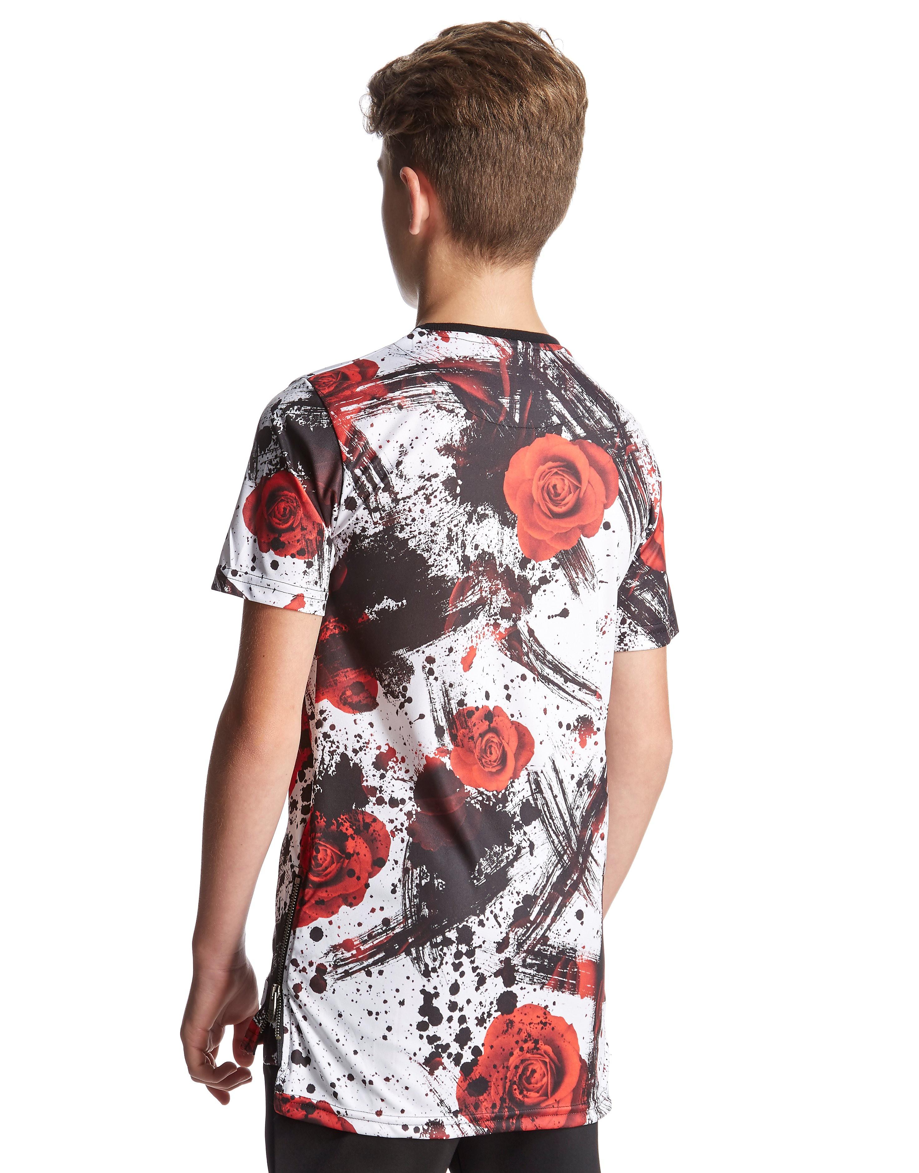 Sonneti Splat Rose T-Shirt Junior
