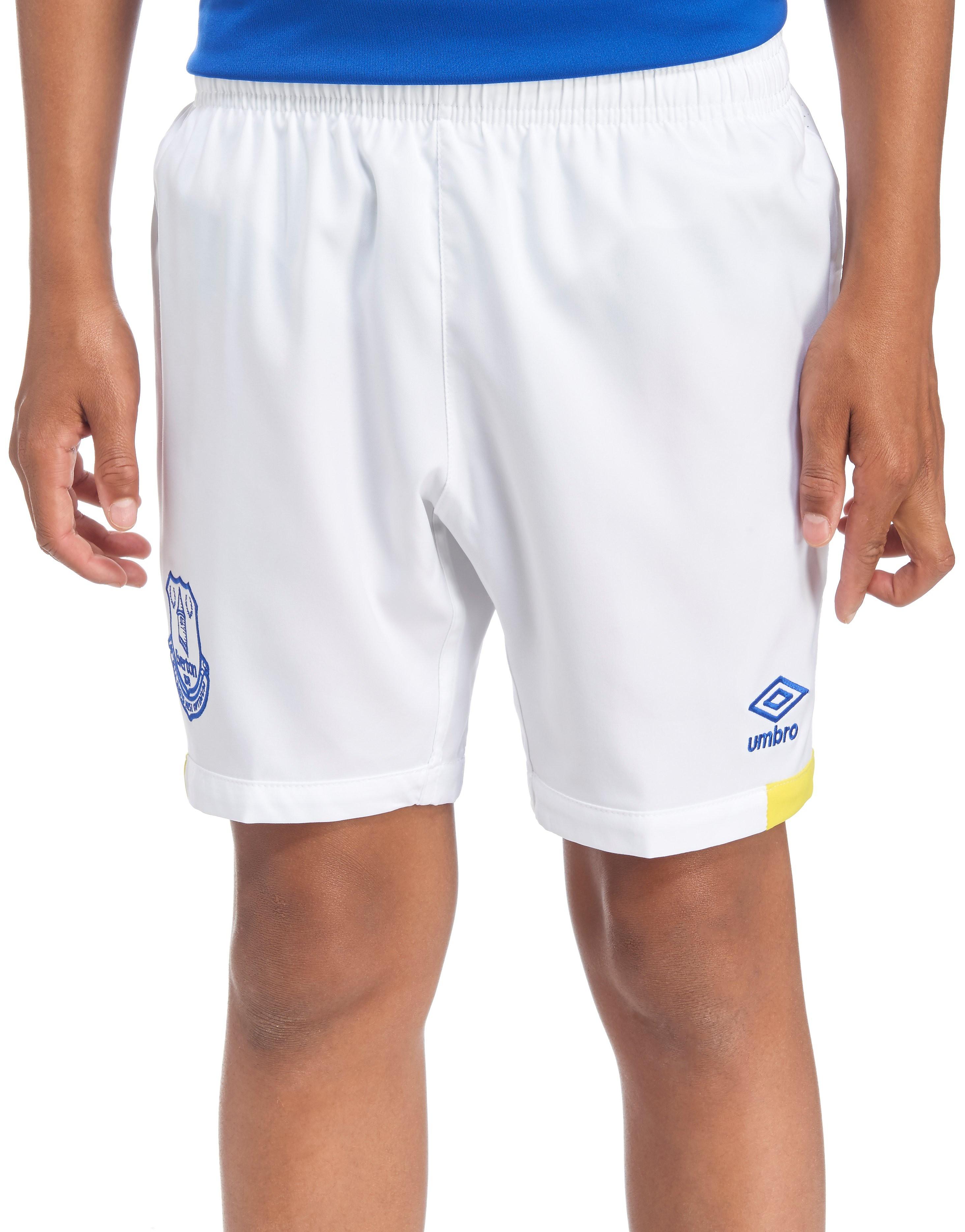 Umbro Everton FC 2016/17 Home Shorts Junior
