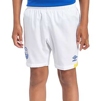 Umbro Everton FC 2016/17 Home Shorts Junior