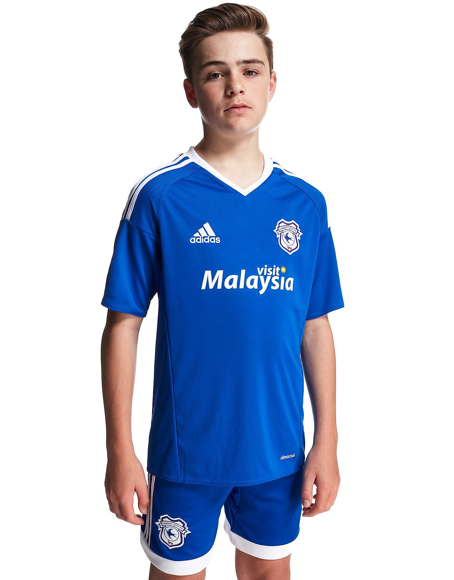 adidas Cardiff City FC 2016/17 Home Shirt Junior