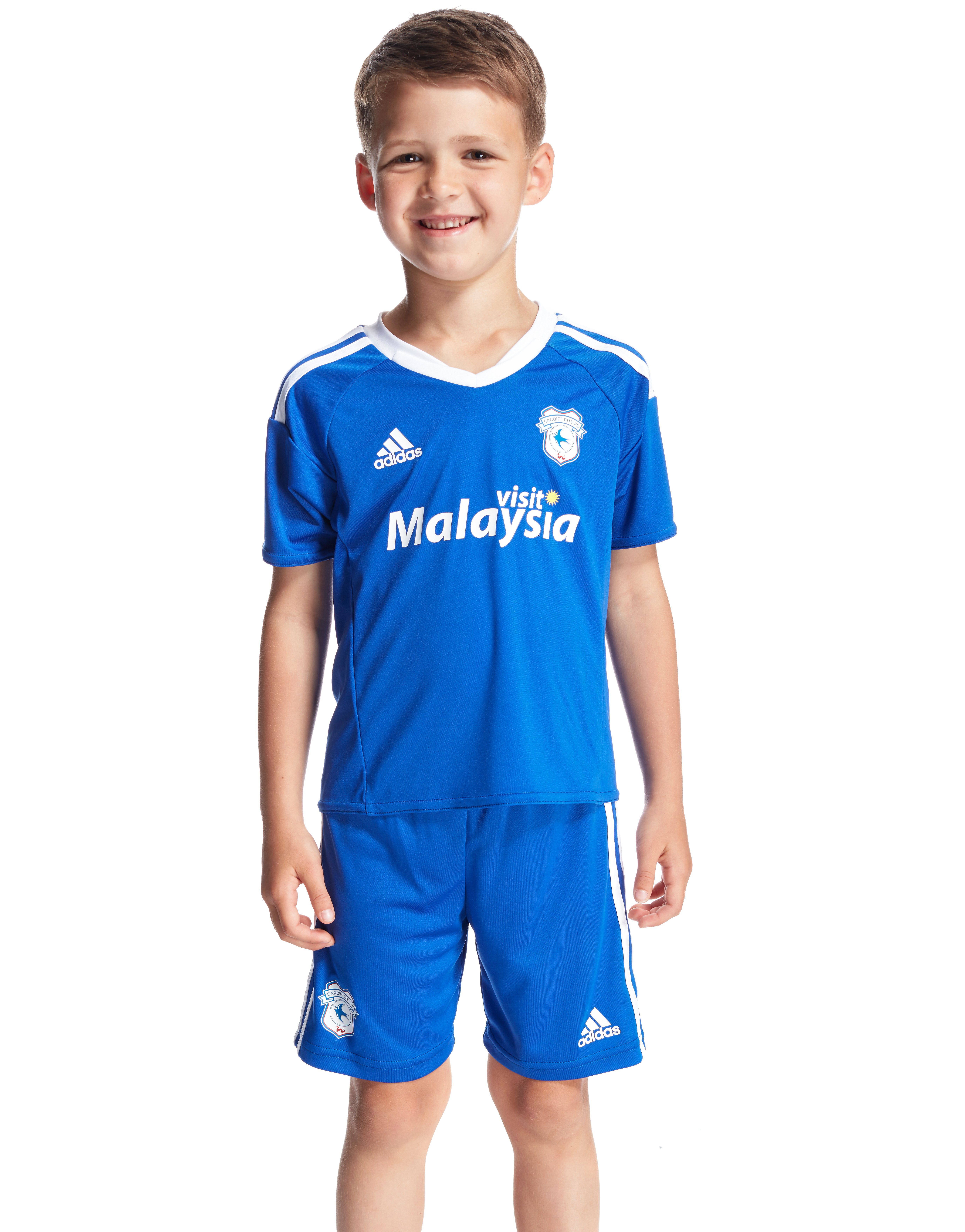 adidas Cardiff City FC 2016/17 Home Kit Children