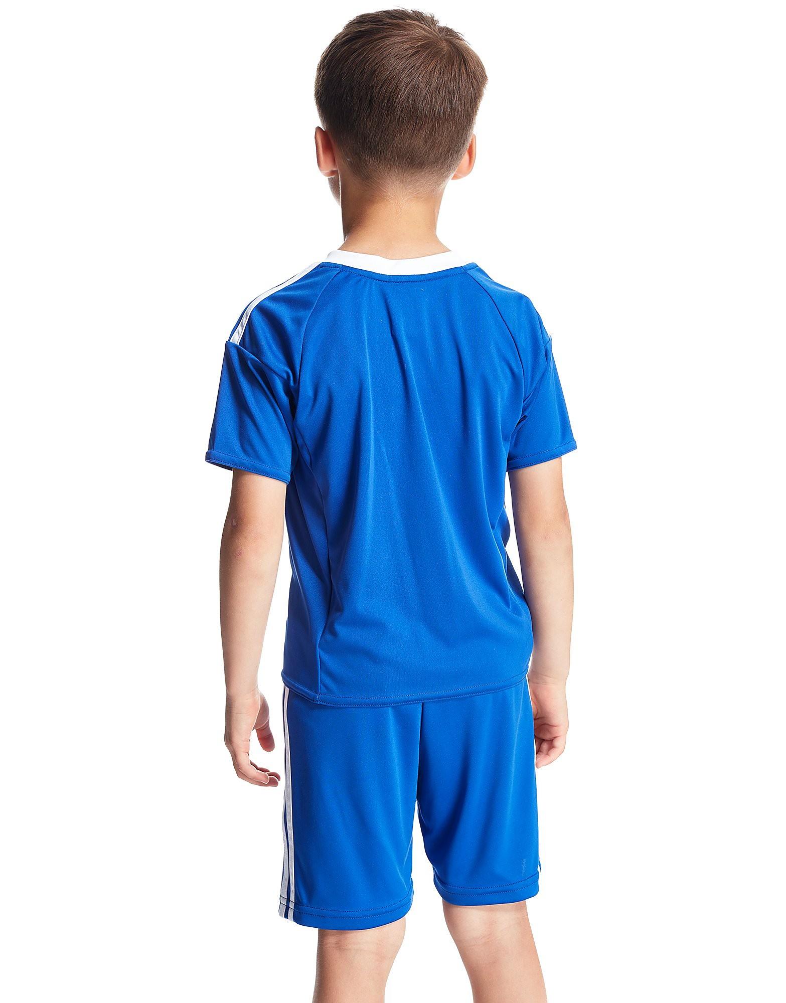 adidas Cardiff City FC 2016/17 Home Kit Children