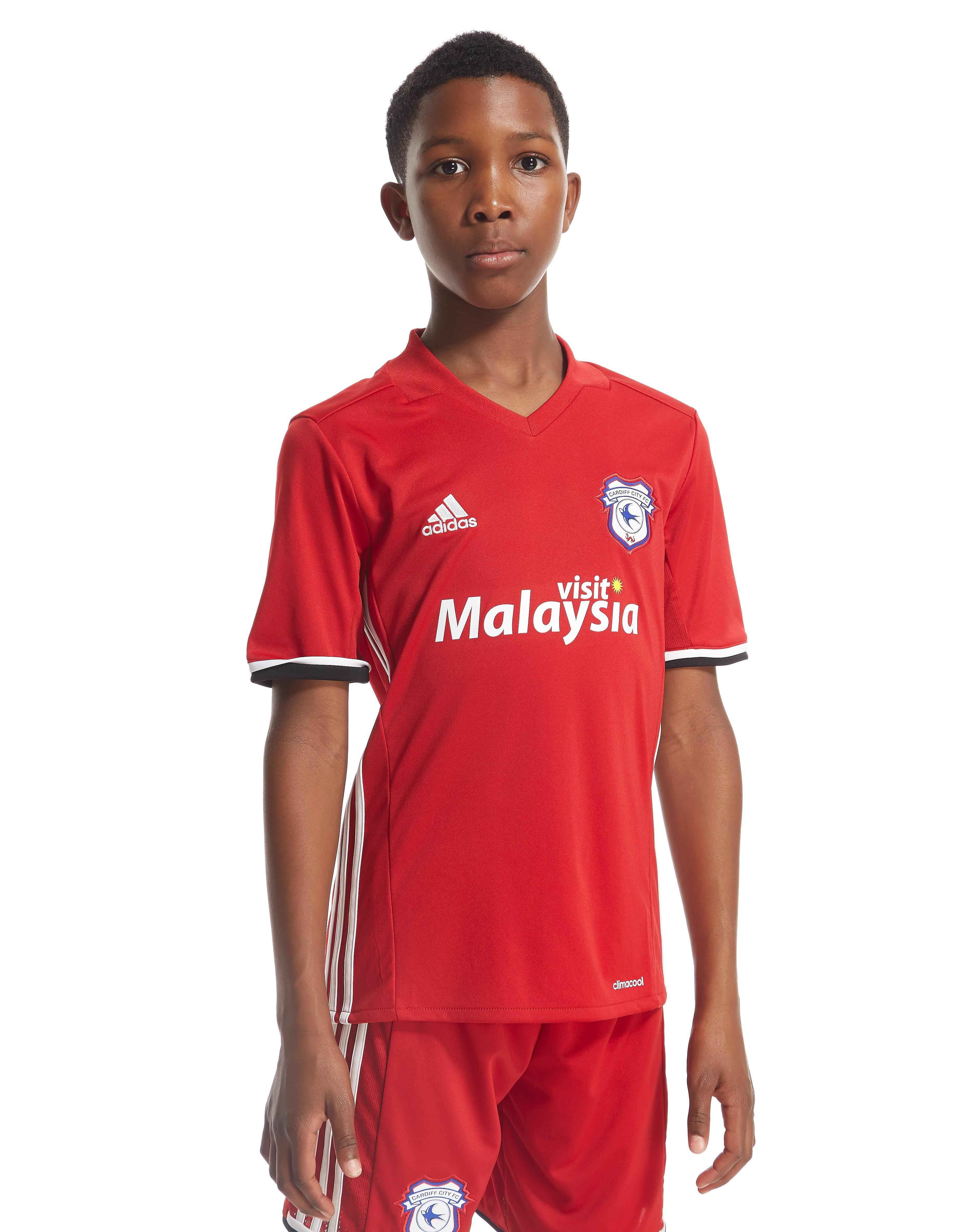 adidas Cardiff City FC 2016/17 junior udebanetrøje