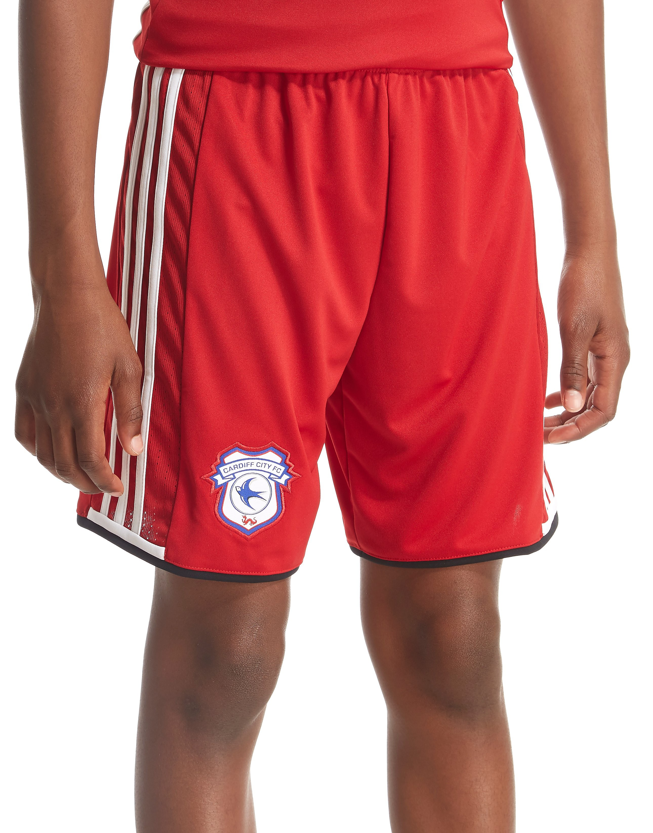 adidas Cardiff City FC 2016/17 Away Shorts Junior