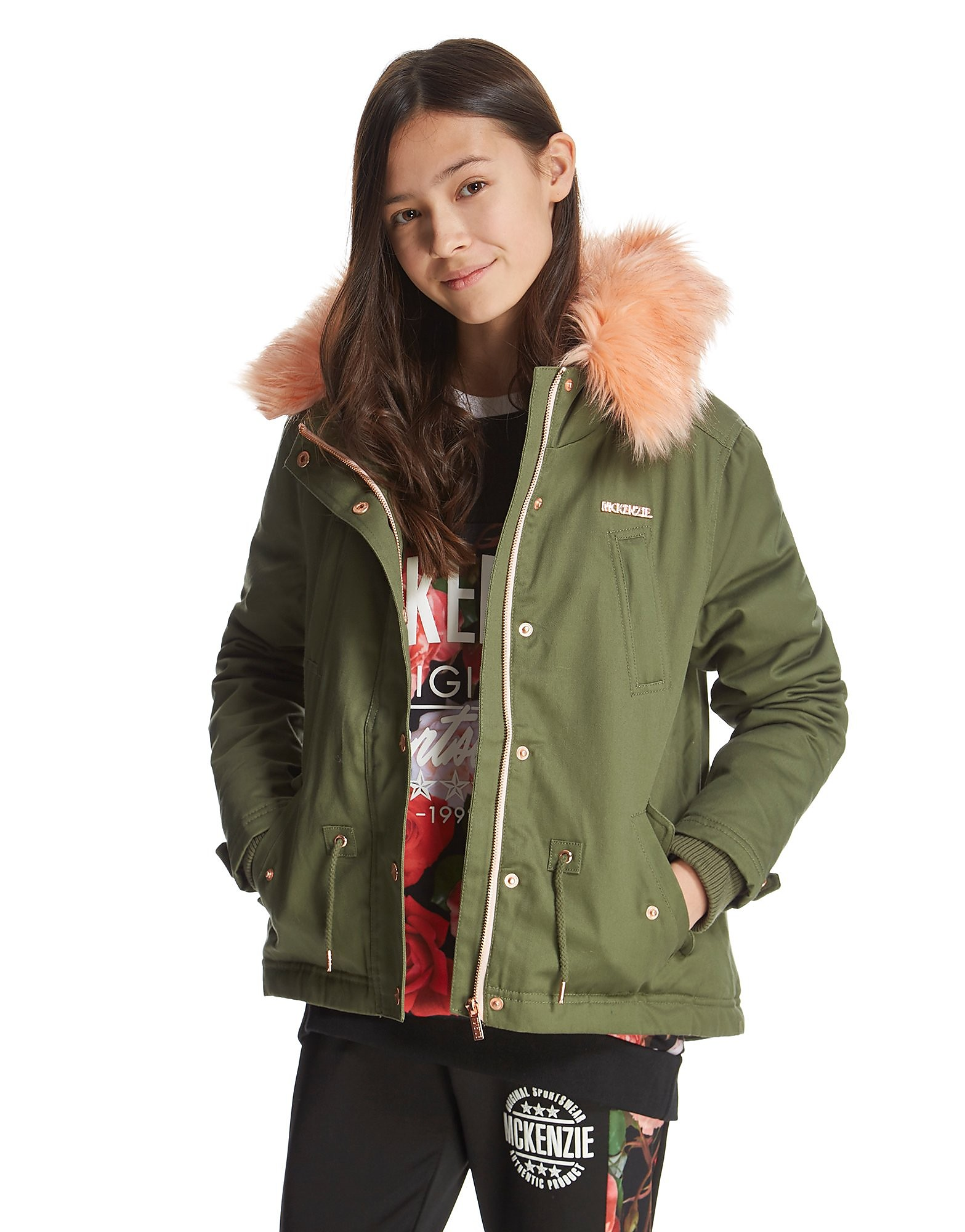 McKenzie Girls' Amelia Parka Jacket Junior