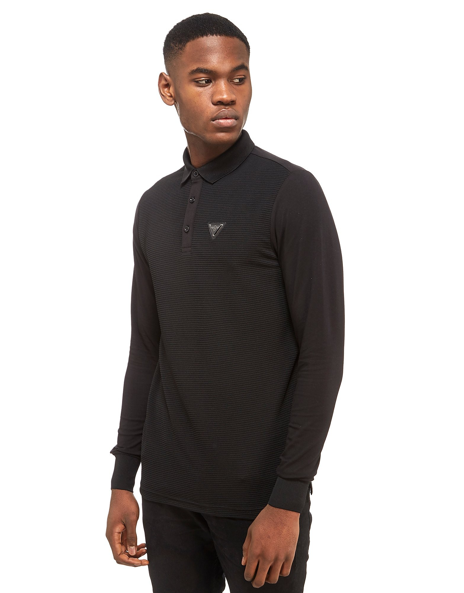 Creative Recreation Palmwood Rib Longsleeve Polo Shirt