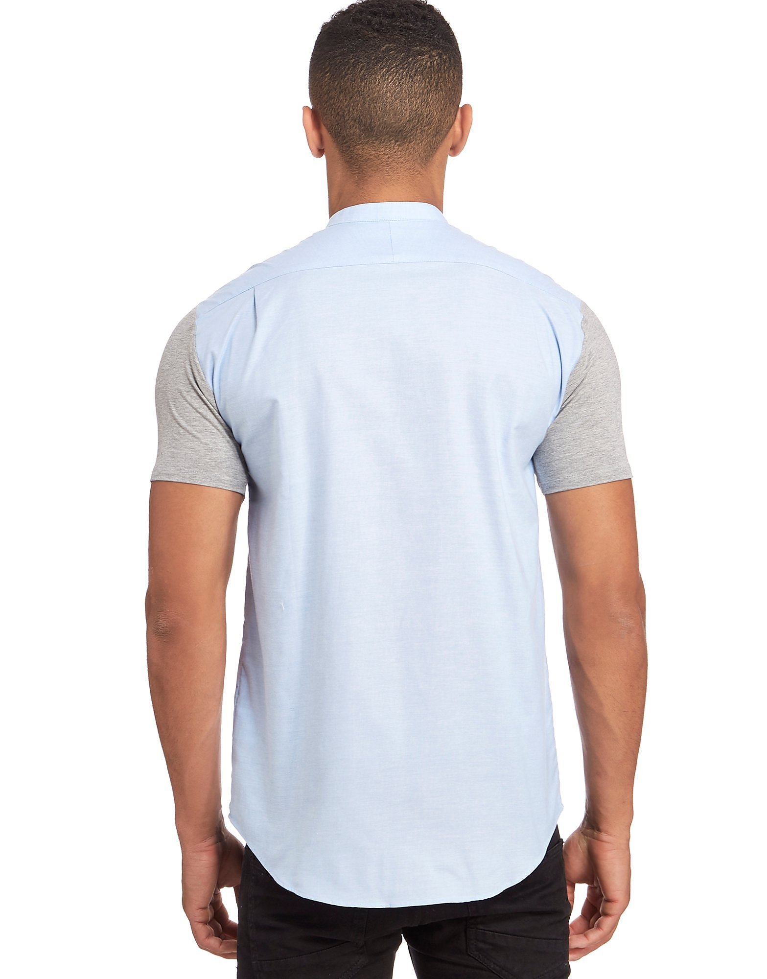 SikSilk Contrast Sleeve Shirt