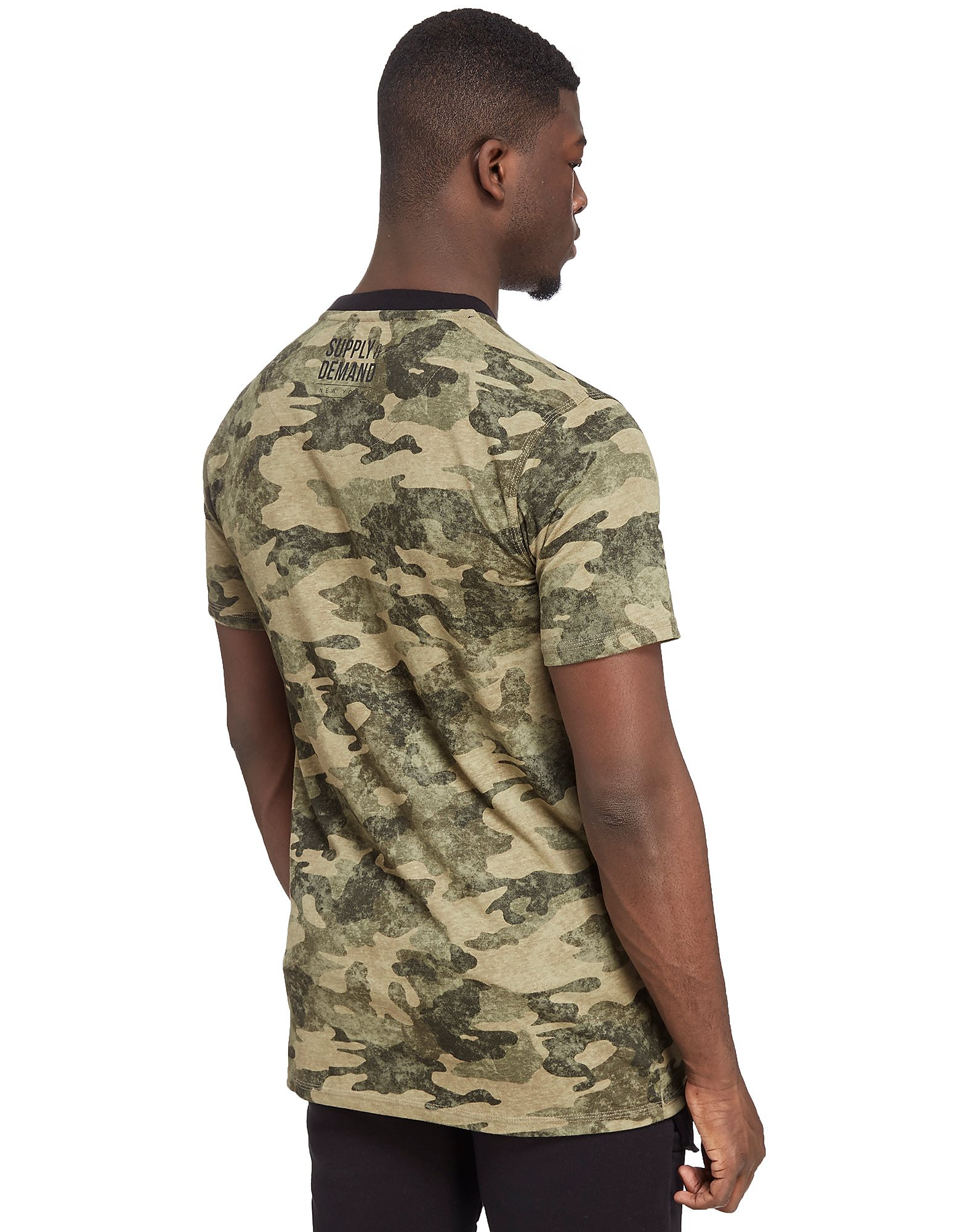 Supply & Demand Camo T-Shirt