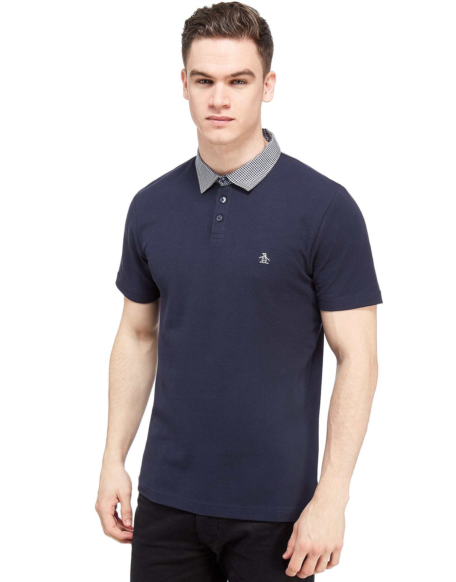 Original Penguin Gingham Collar Polo Shirt