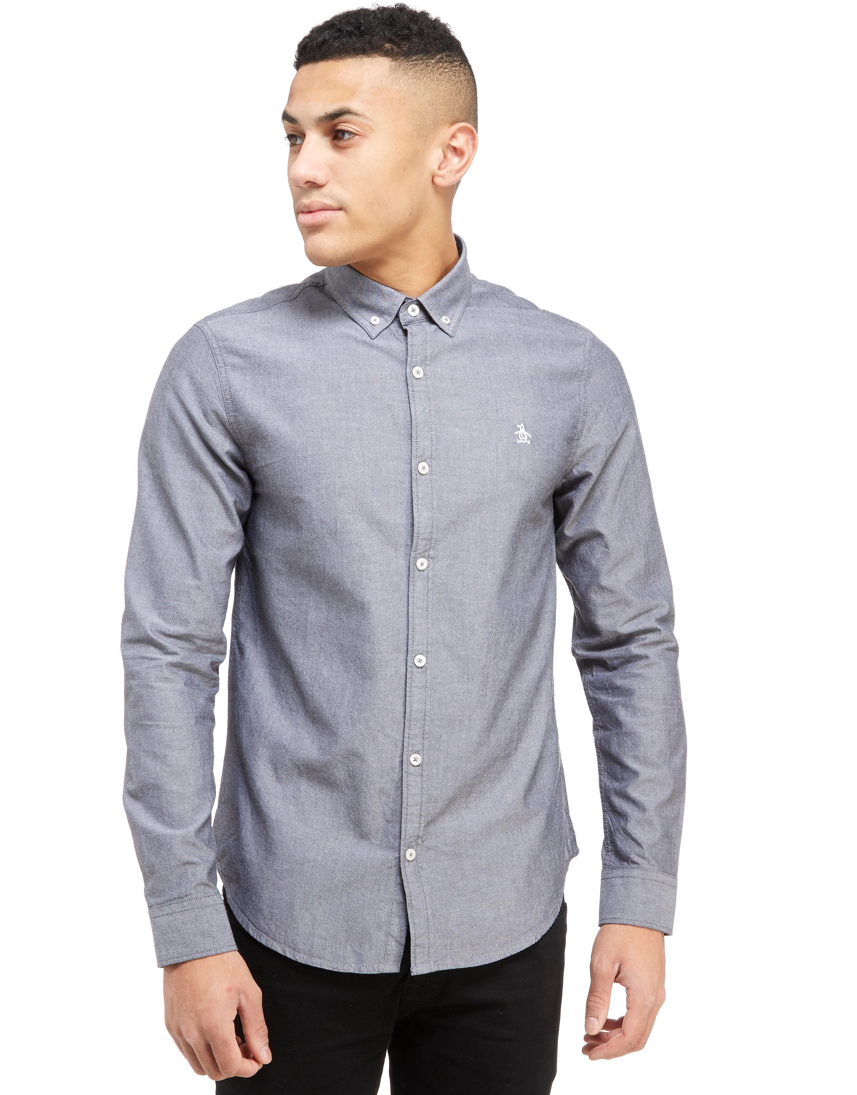 Original Penguin Long Sleeve Oxford Shirt