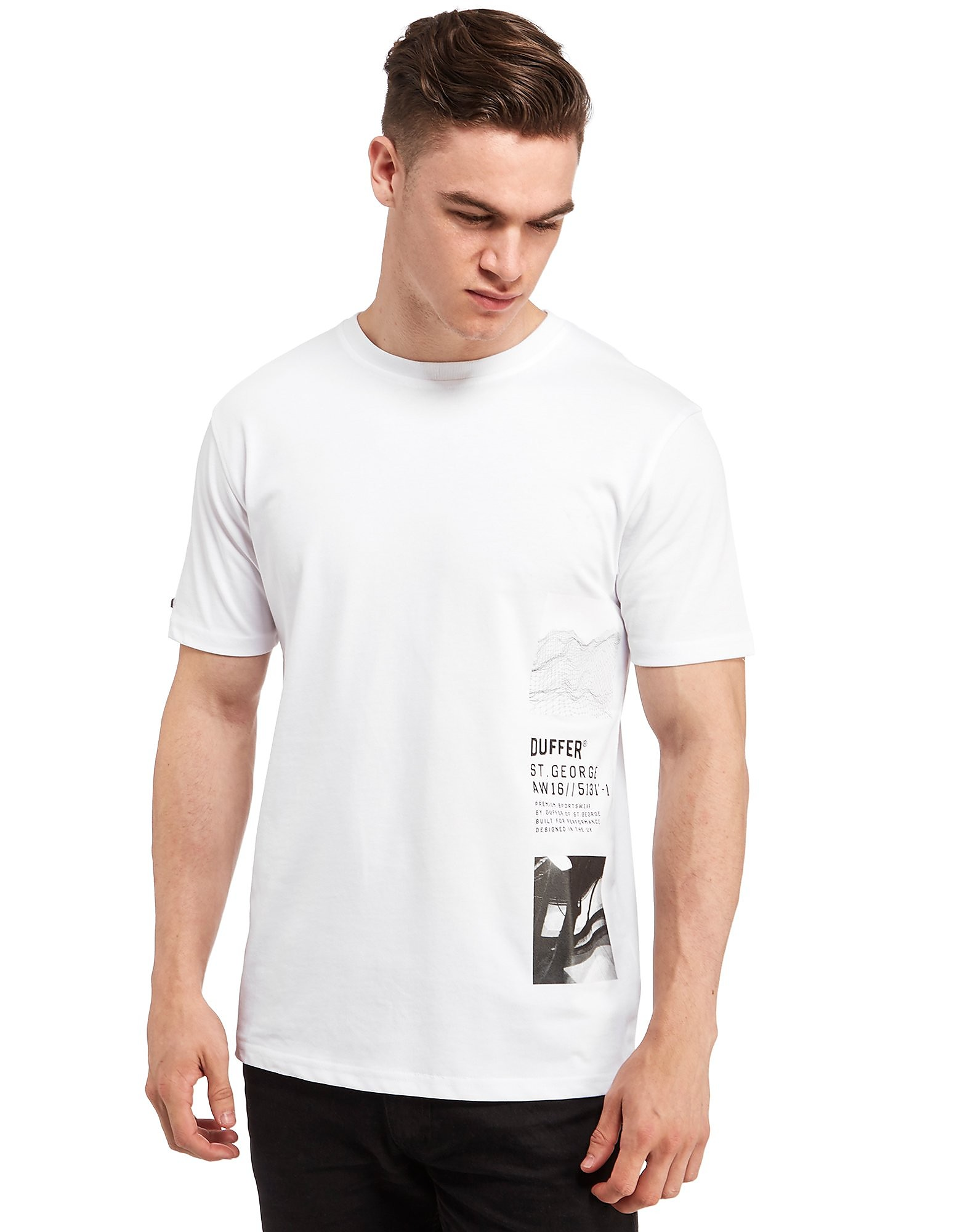 Duffer of St George Black Label Illusion T-Shirt