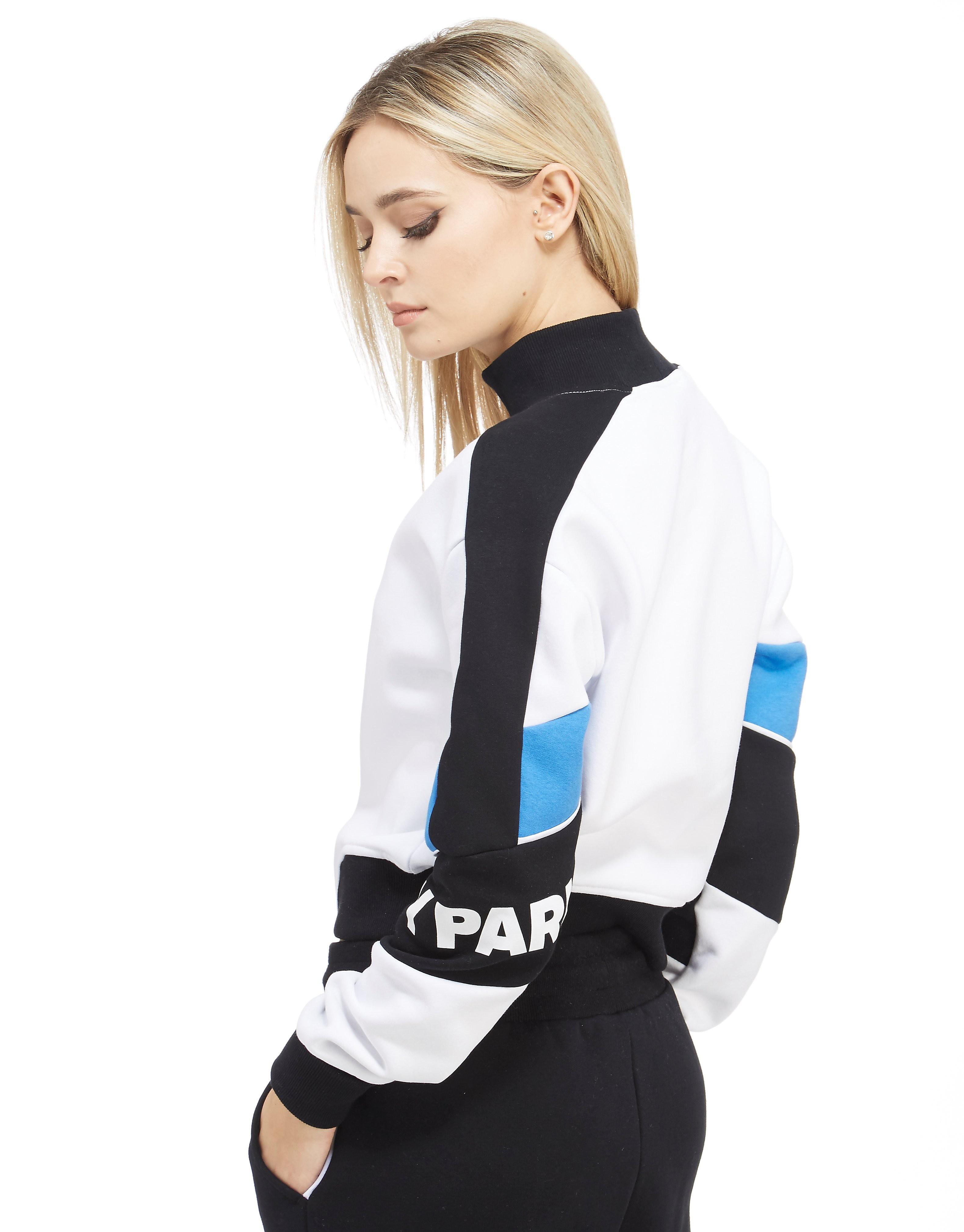 IVY PARK Sweatshirt court à blocks de couleur