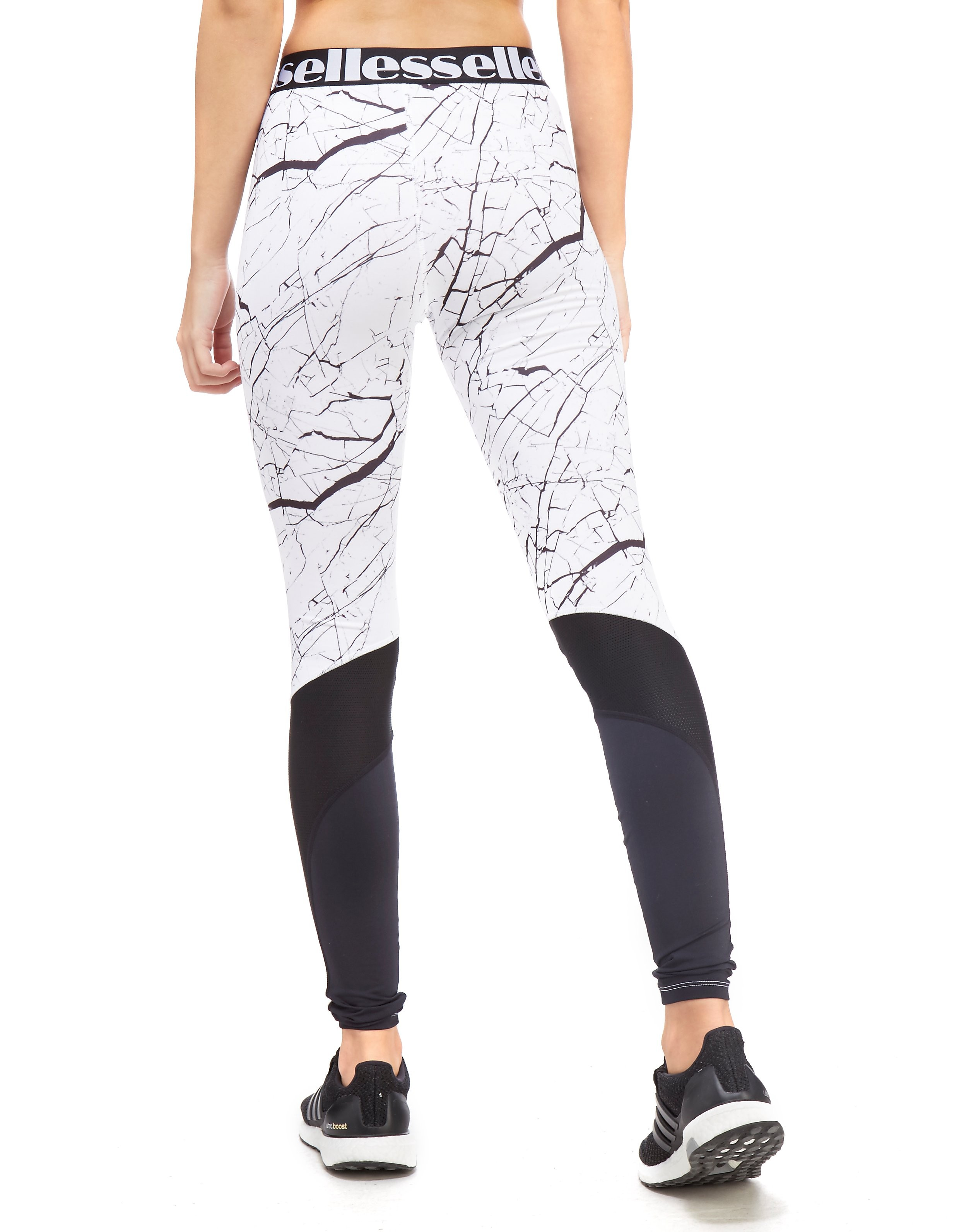 Ellesse All-Over Print Marble Tights