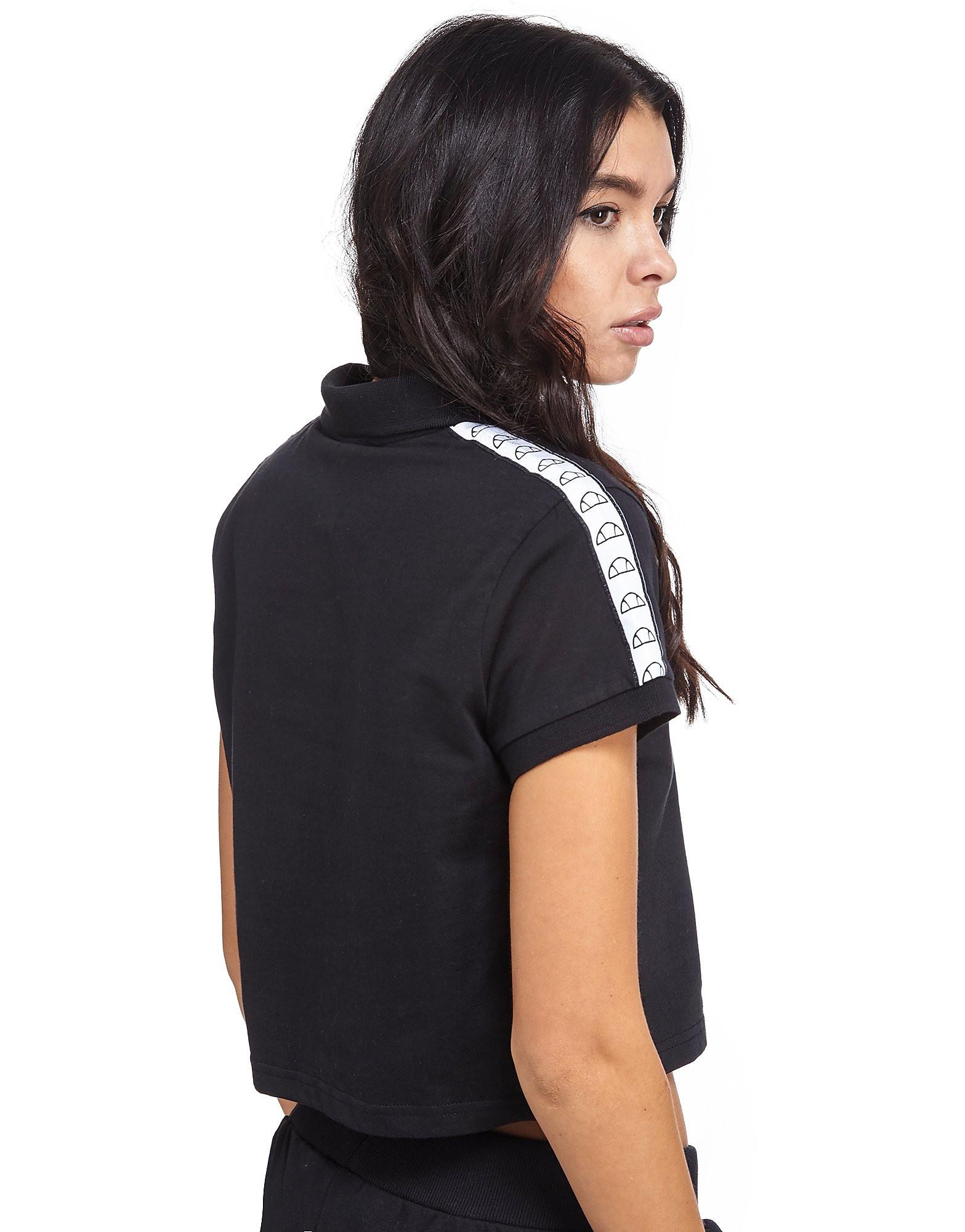 Ellesse Marsa Tape Crop Polo Shirt