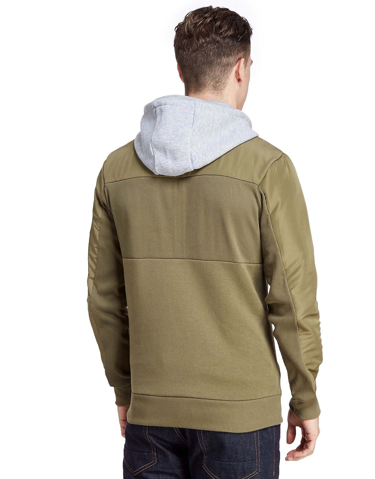 Nanny State Stealth Zip Up Hoody