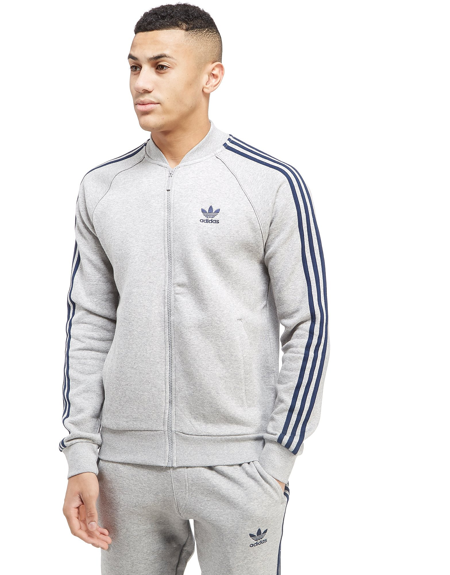 adidas Originals Superstar Fleece Track Top