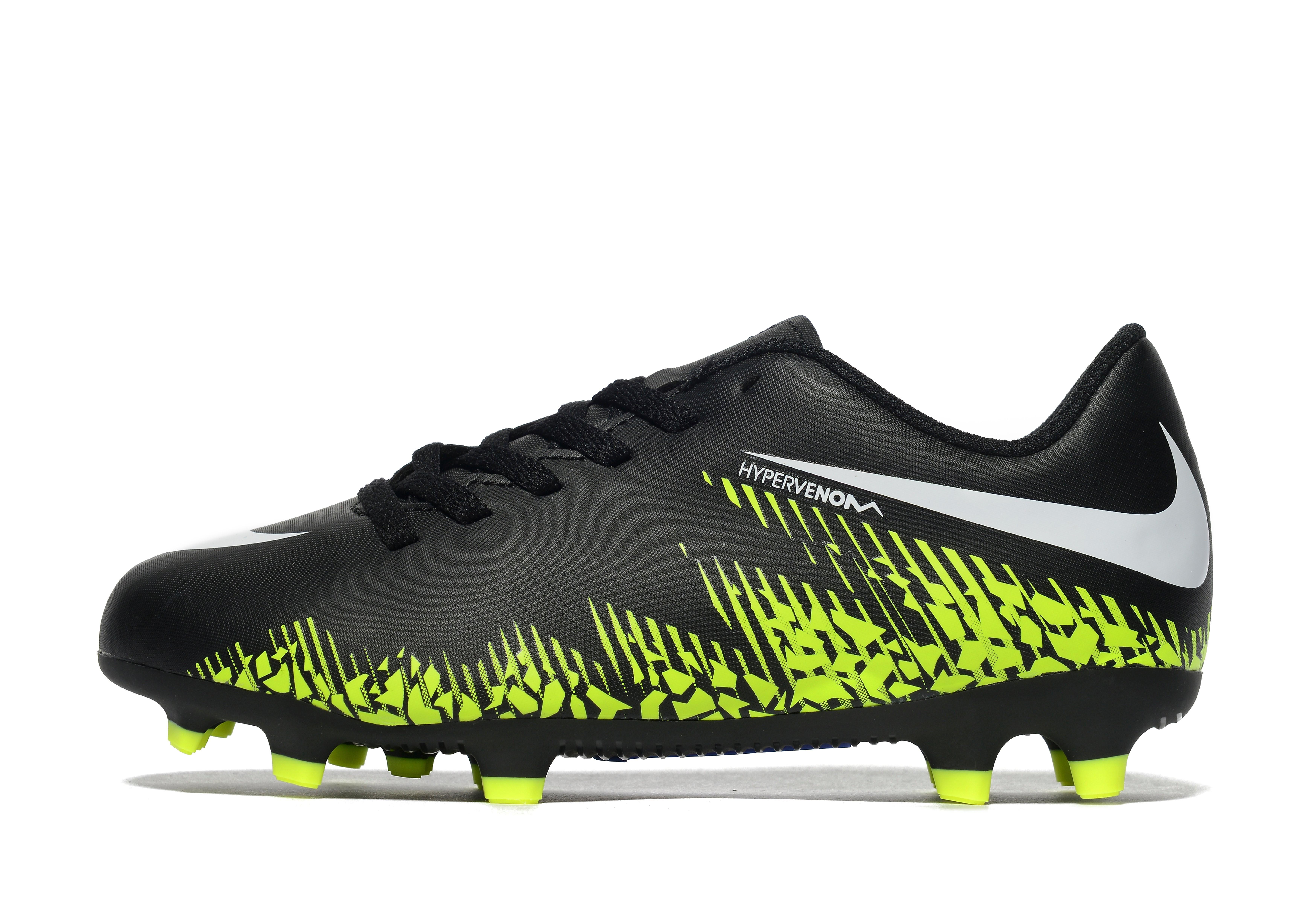 Nike Dark Lightning Hypervenom Phade II FG Children