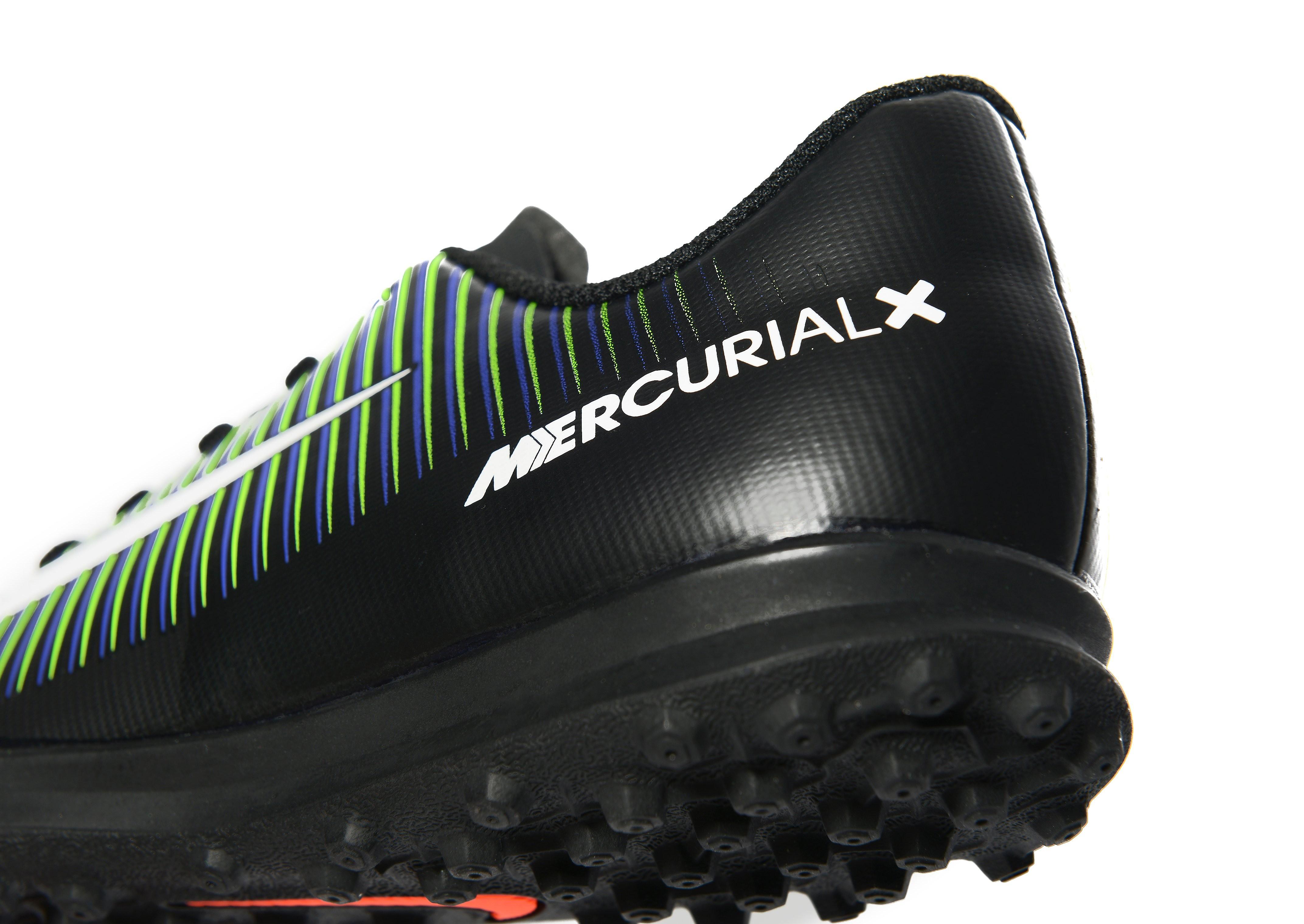 Nike Dark Lightning MercurialX Vortex III Turf Children