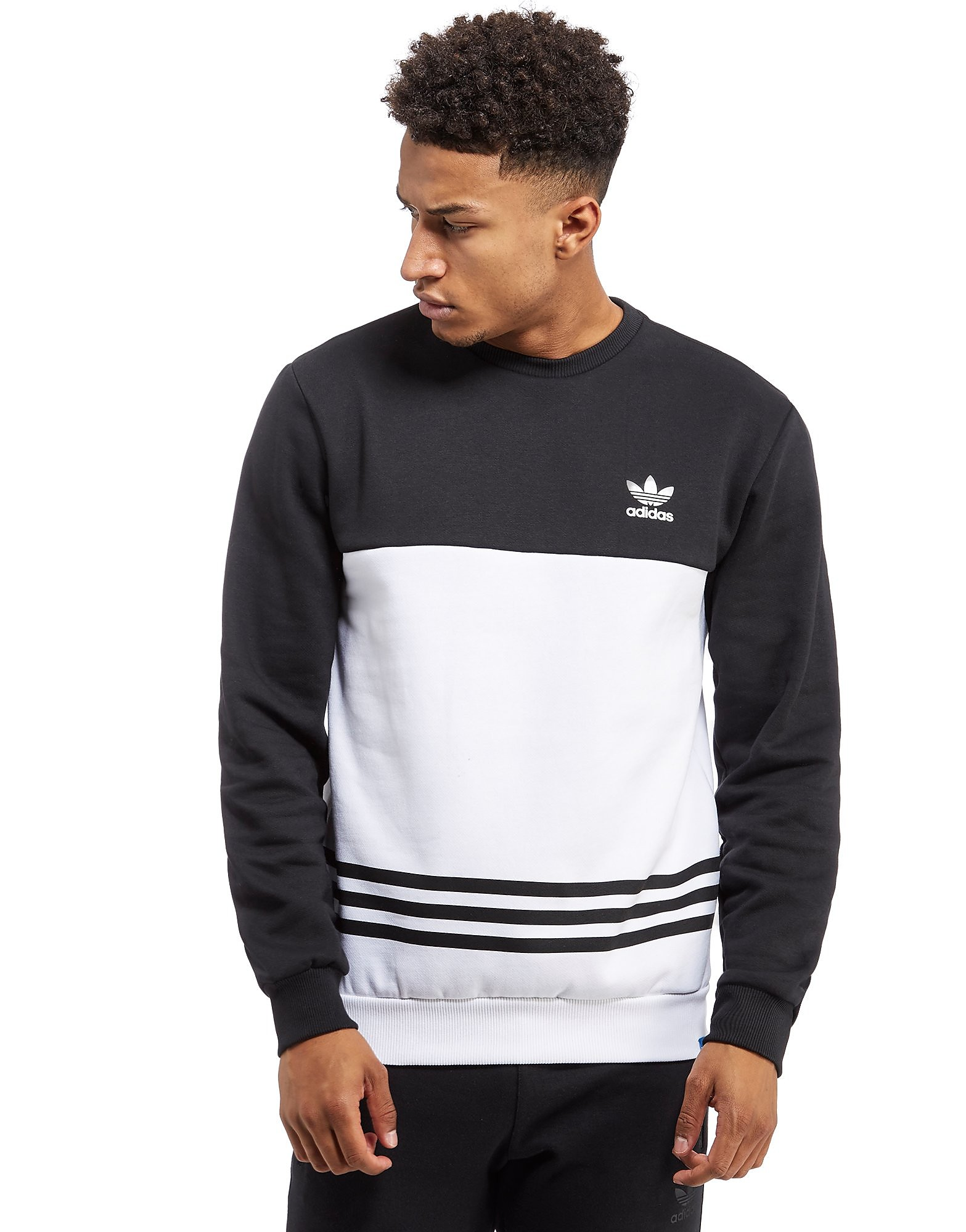 adidas Originals 3-Stripes Linear Sweatshirt