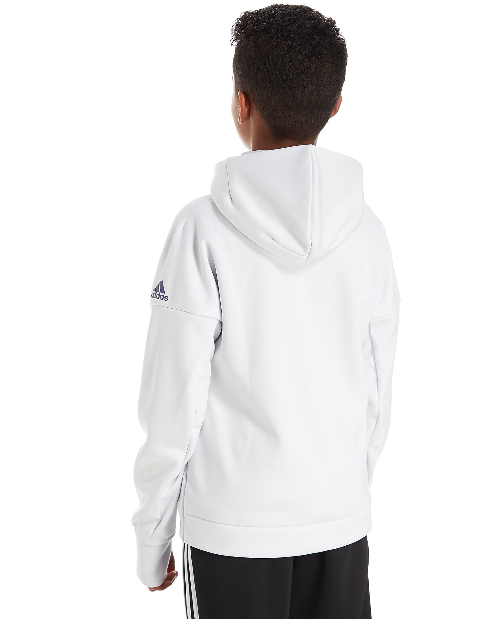 adidas Sweats à capuche Real Madrid ZNE Anthem Junior