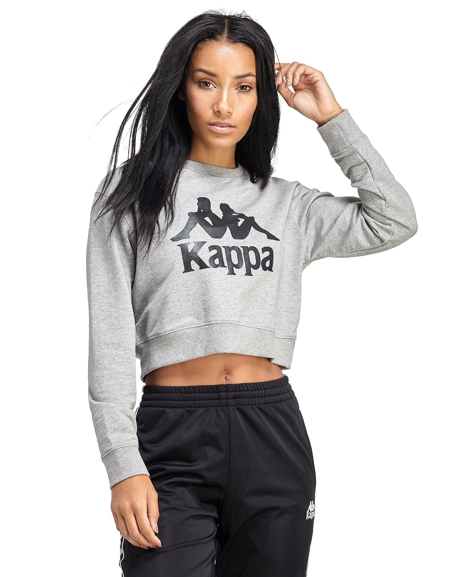 Kappa Authentic Crop Crew Sweatshirt