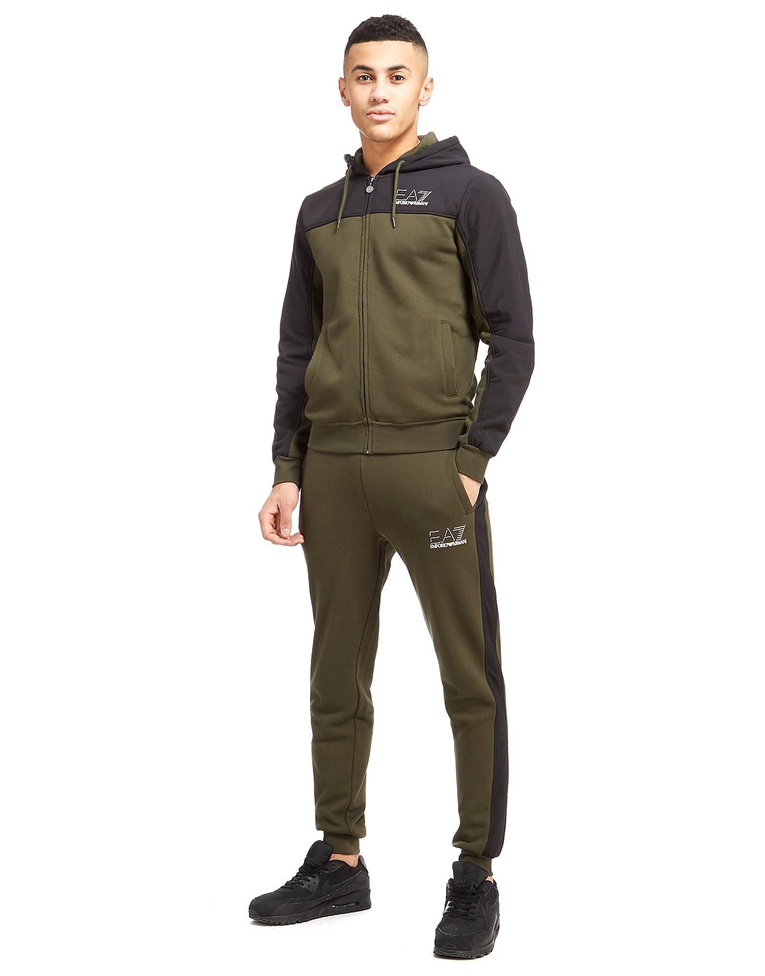 Emporio Armani EA7 Shadowline Woven Overlay Suit