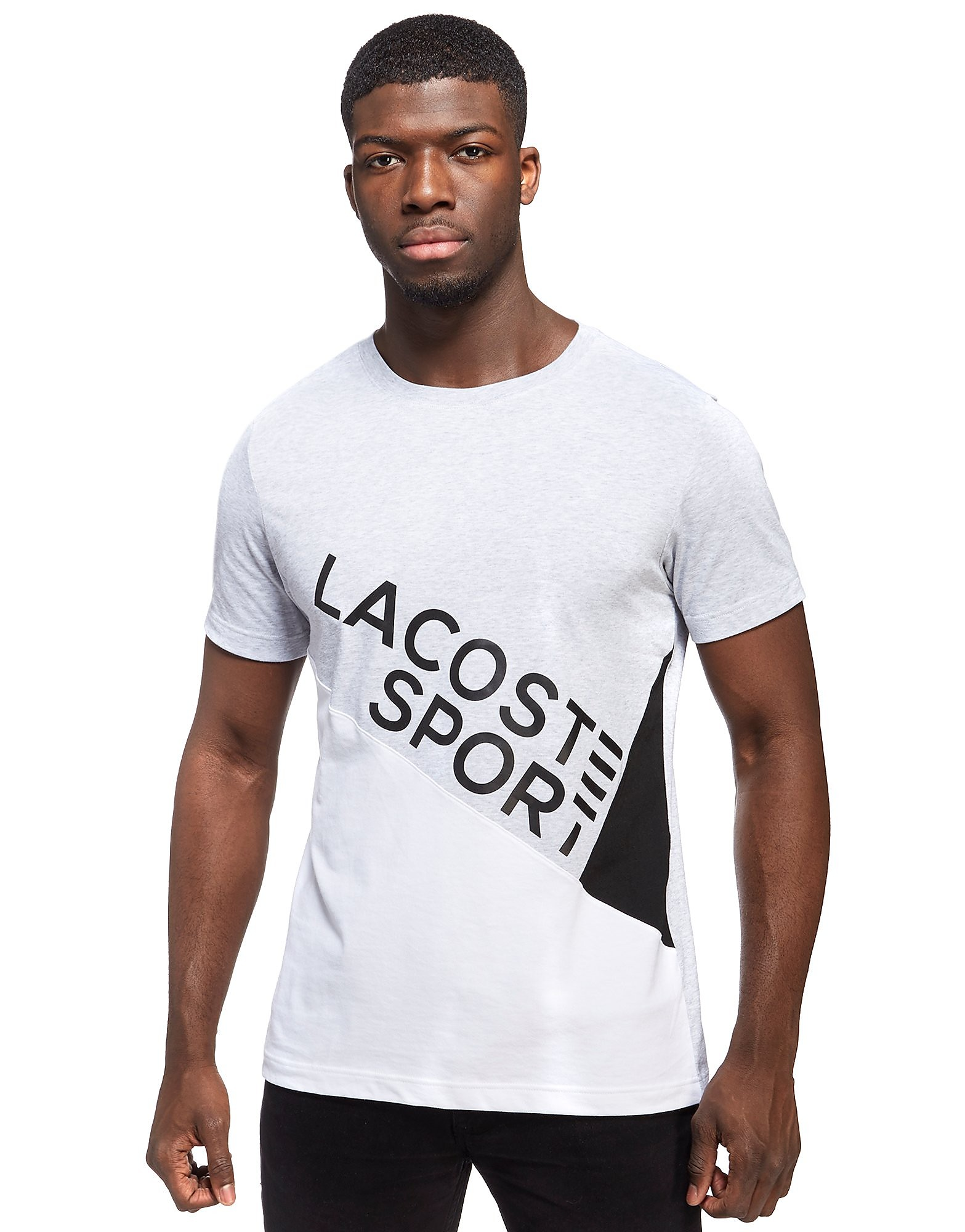 Lacoste Diagonal Cut T-Shirt