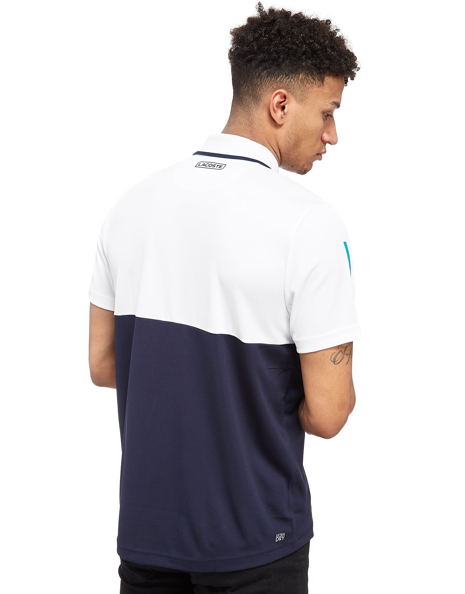 Lacoste Zip Neck Tennis Polo Shirt