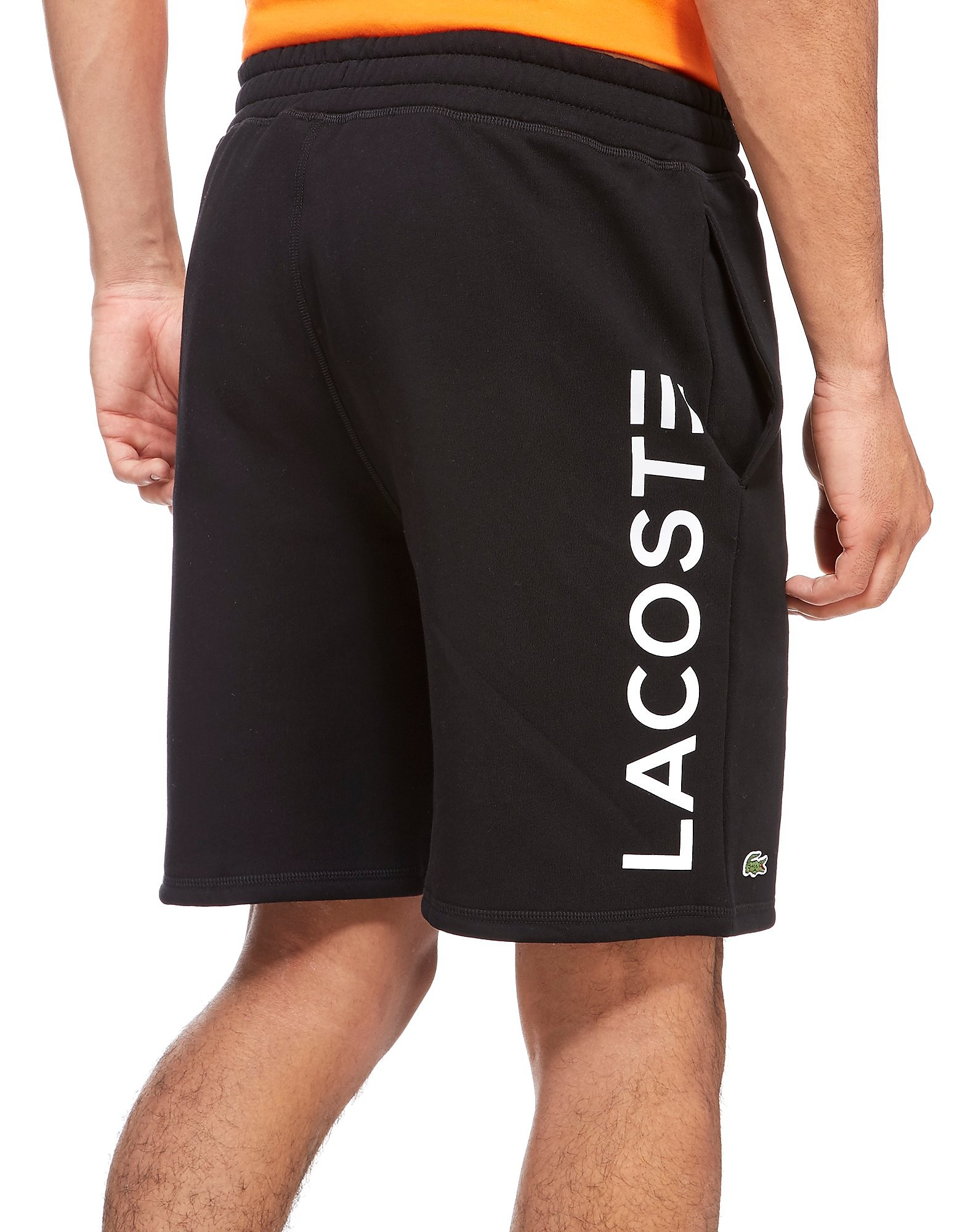 Lacoste Back Logo Fleece Shorts