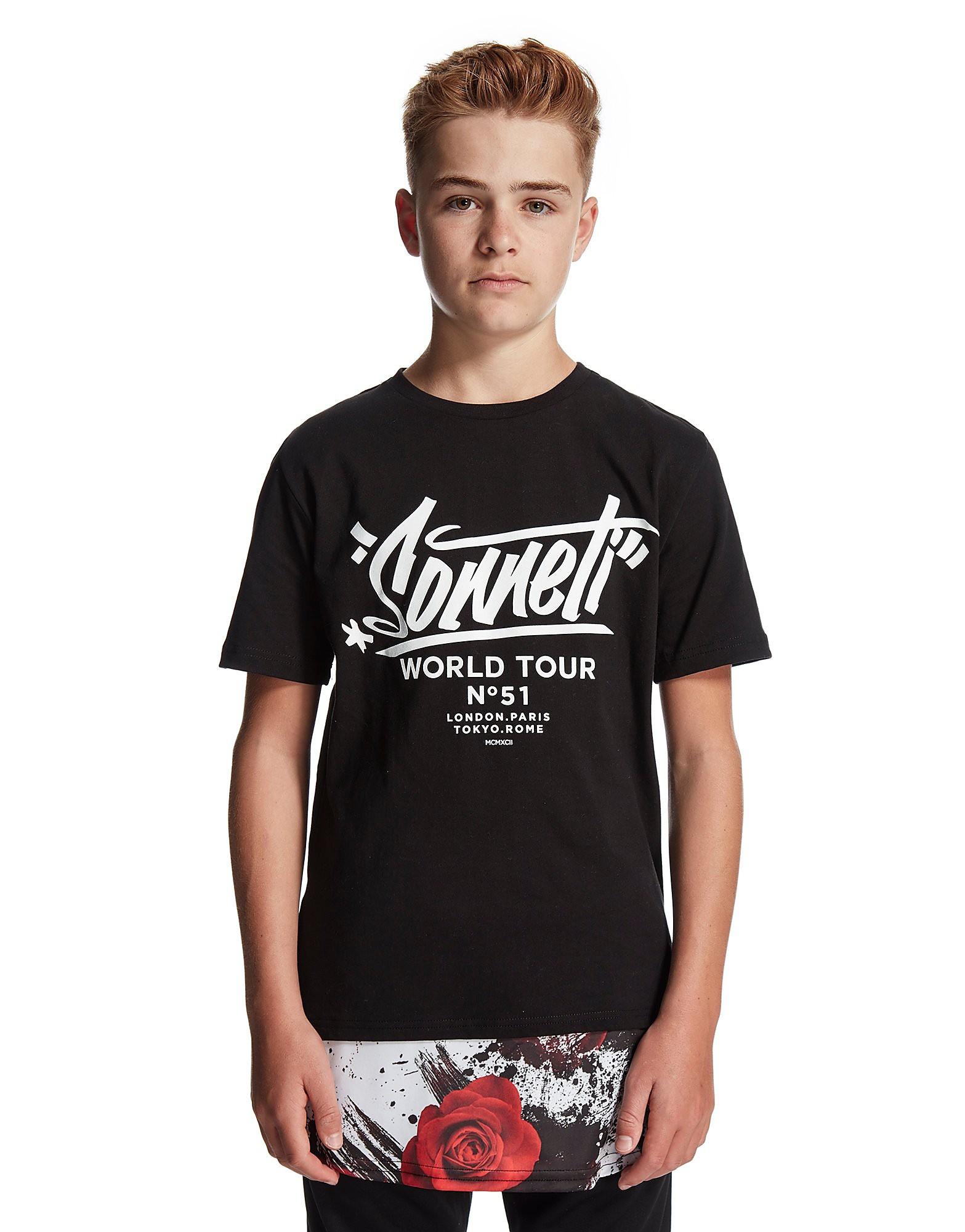 Sonneti Panel Rose T-Shirt Junior