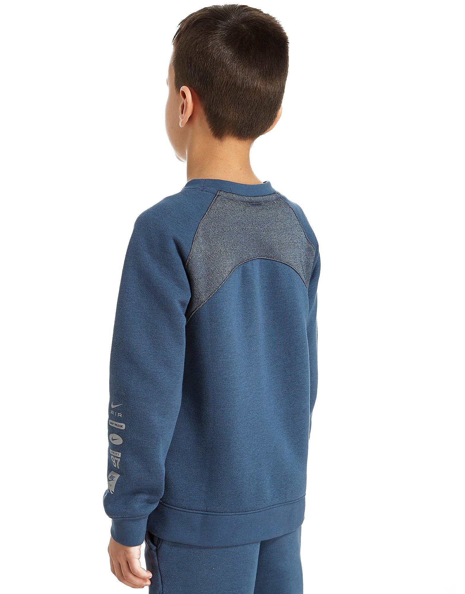 Nike Air Kinder-Sweatshirt mit Rundhalsausschnitt