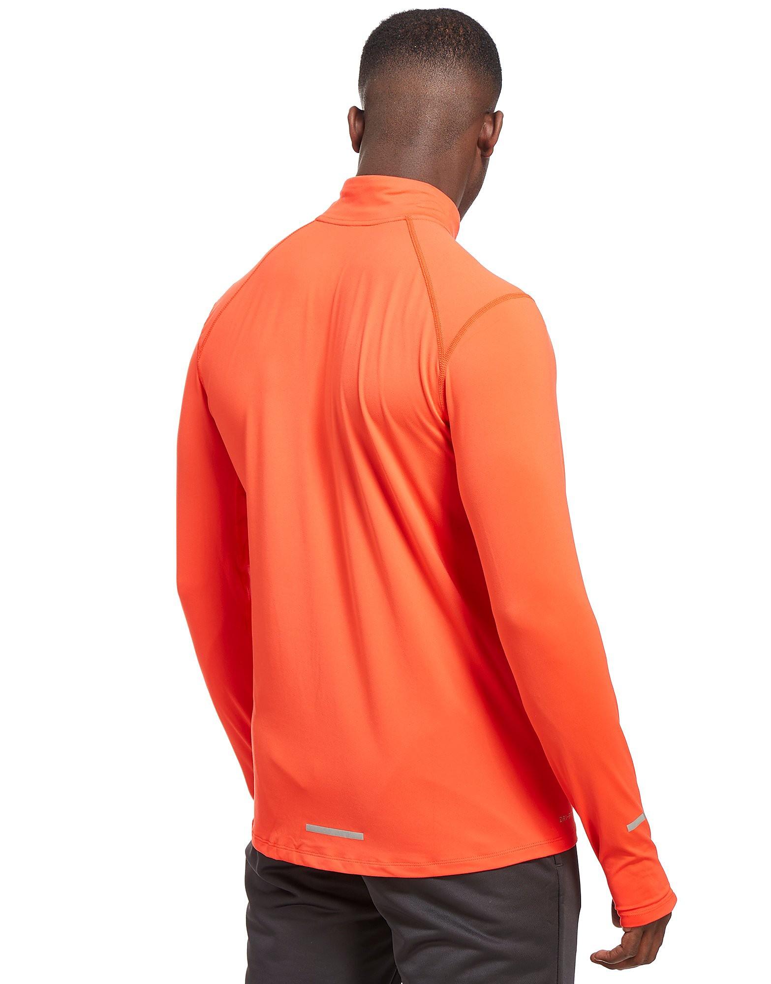 Nike Camiseta Element con cierre medio