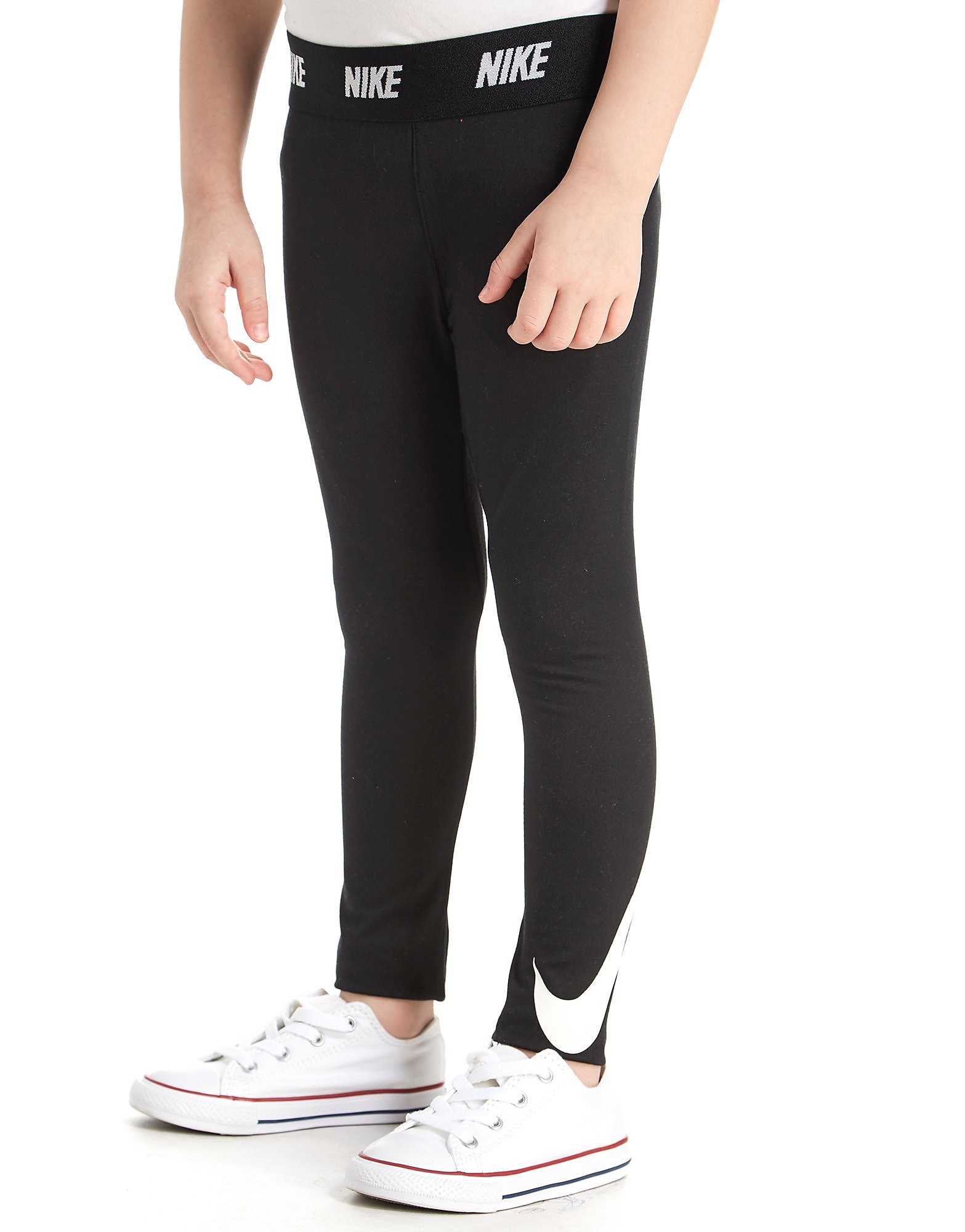 Nike Girls' Swoosh Leggings für Kinder