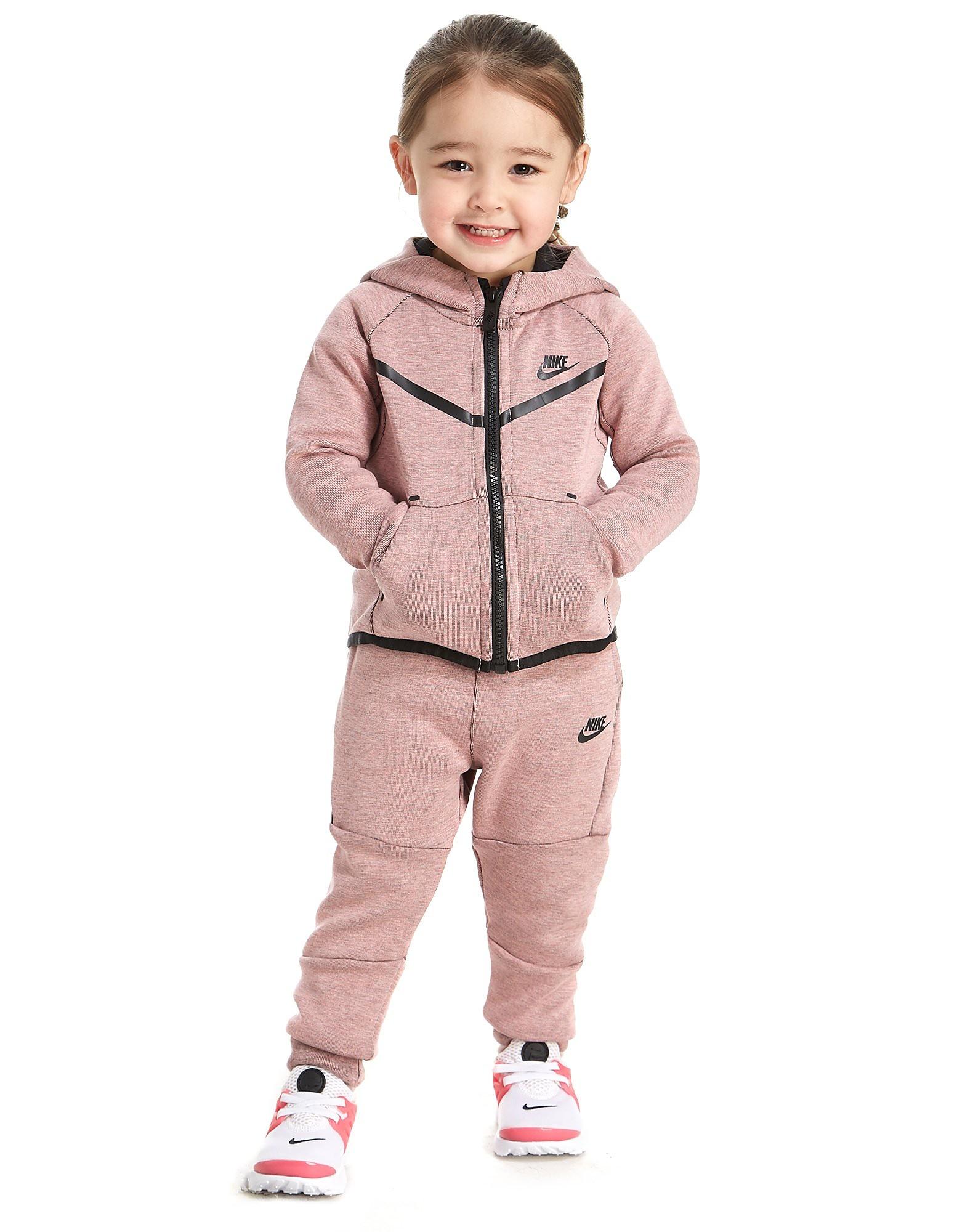 Nike Meisjes Tech Fleece Trainingspak Baby en Peuter