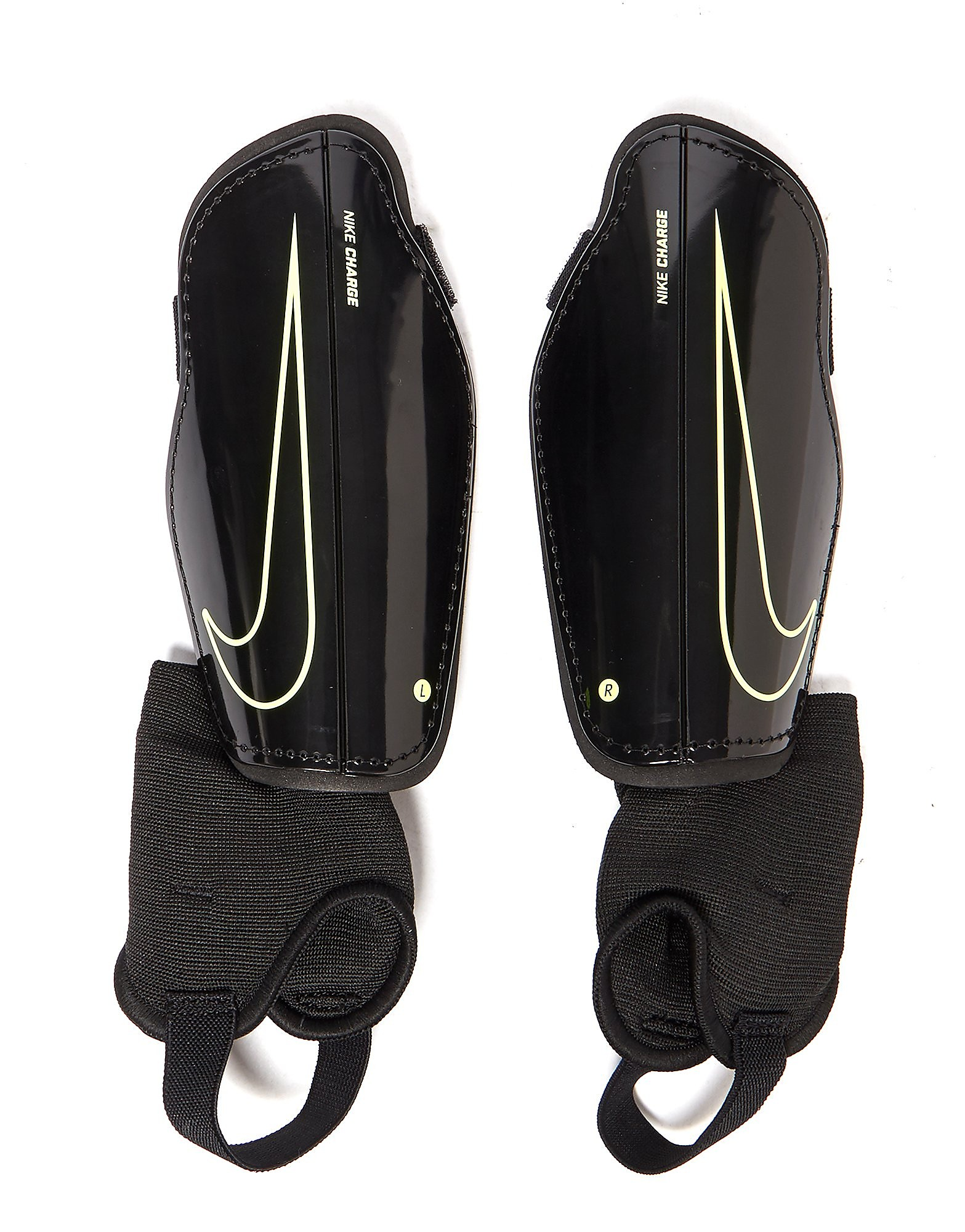 Nike Charge 2.0 Shin Guards Junior - Zwart - Kind