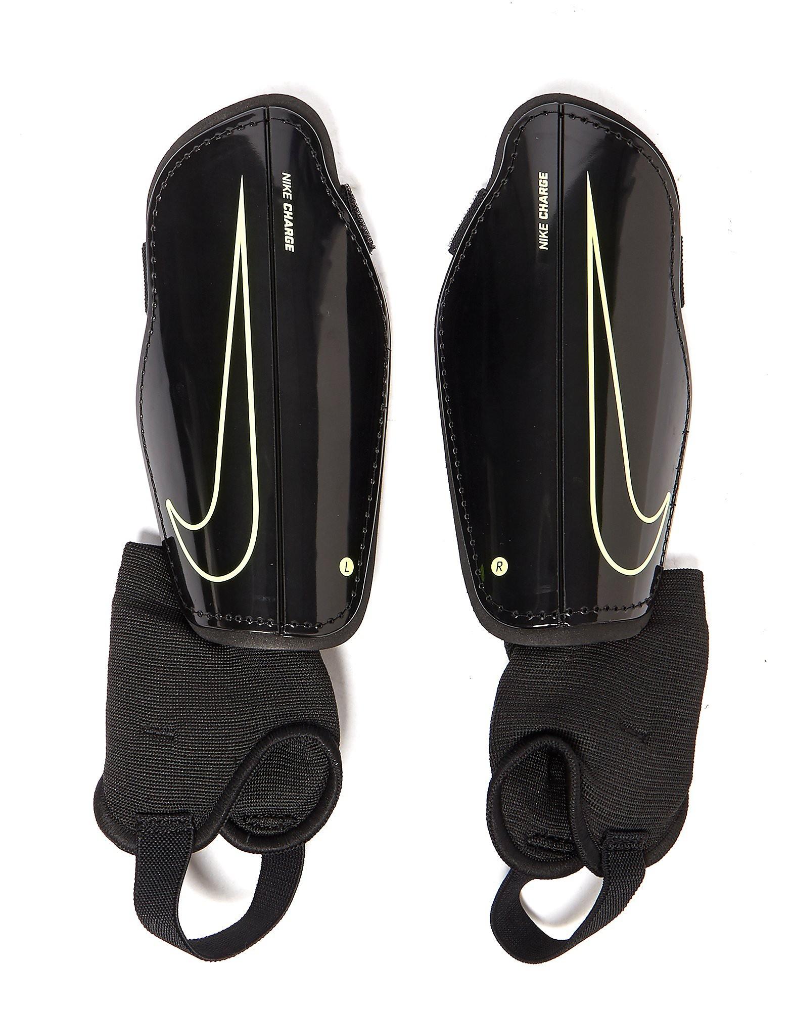 Nike Charge 2.0 Shin Guards Junior - Zwart - Kind