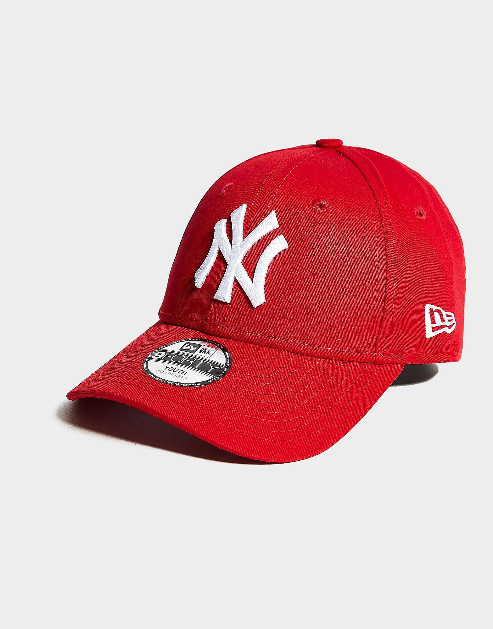 New Era 9FORTY MLB New York Yankees-kinderpet - Rood - Kind